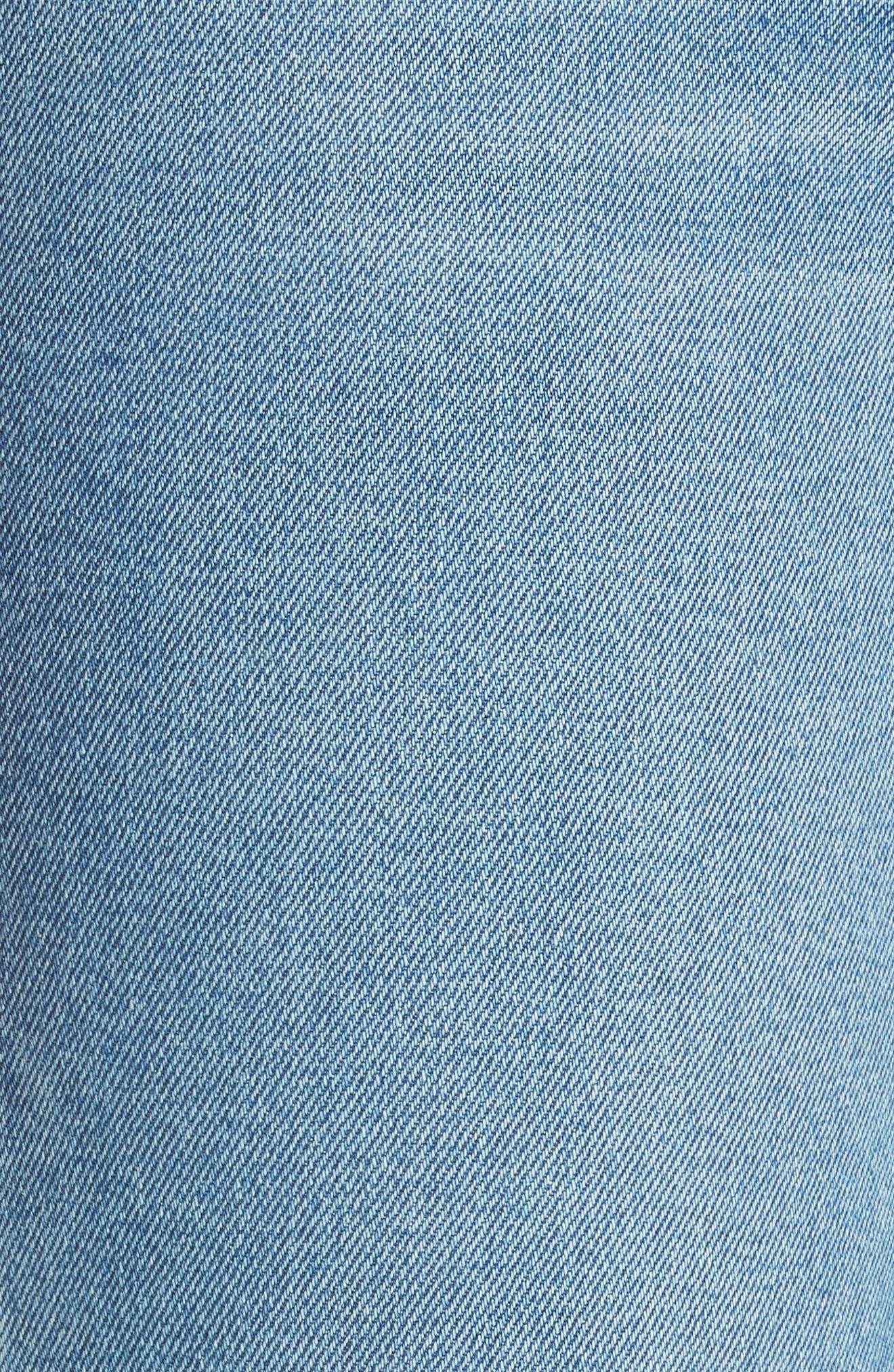Reece Flare Jeans,                             Alternate thumbnail 5, color,                             401