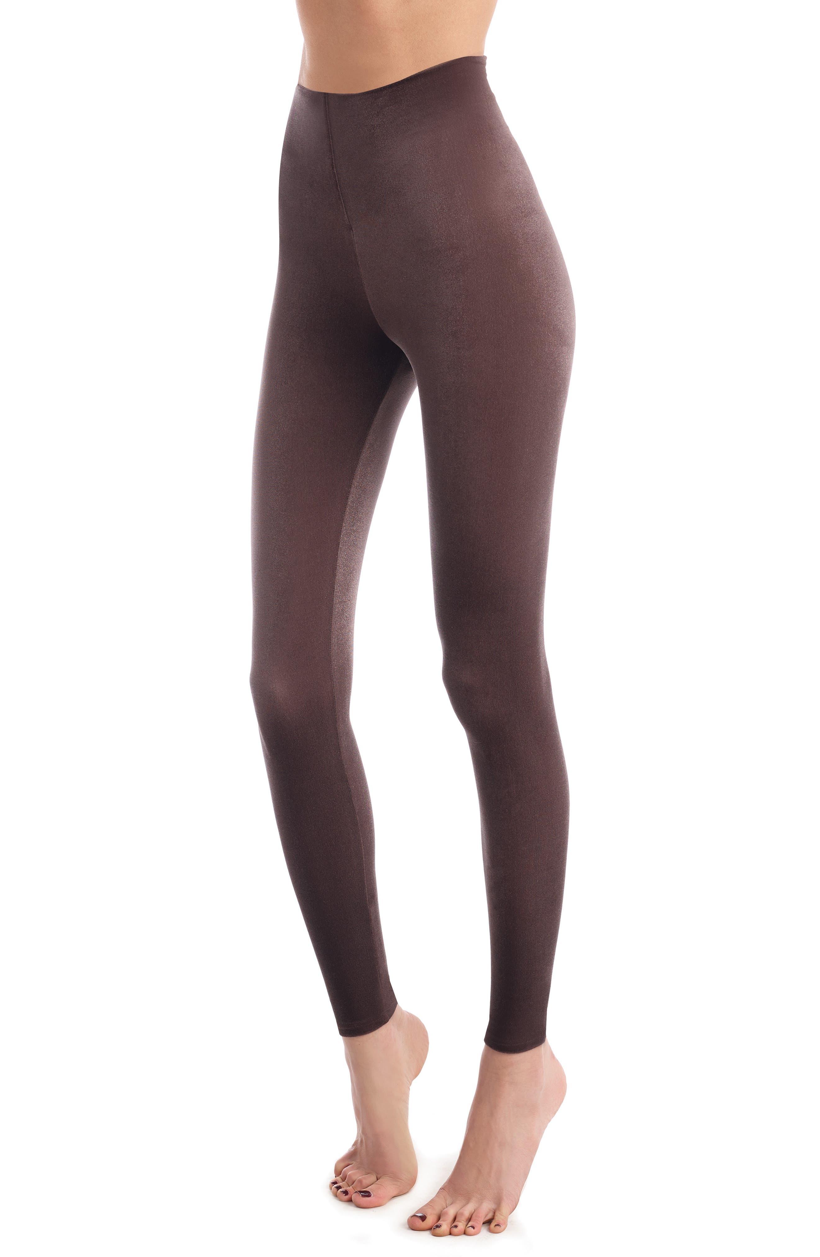 Commando Perfect Control Top Velvet Leggings, Grey