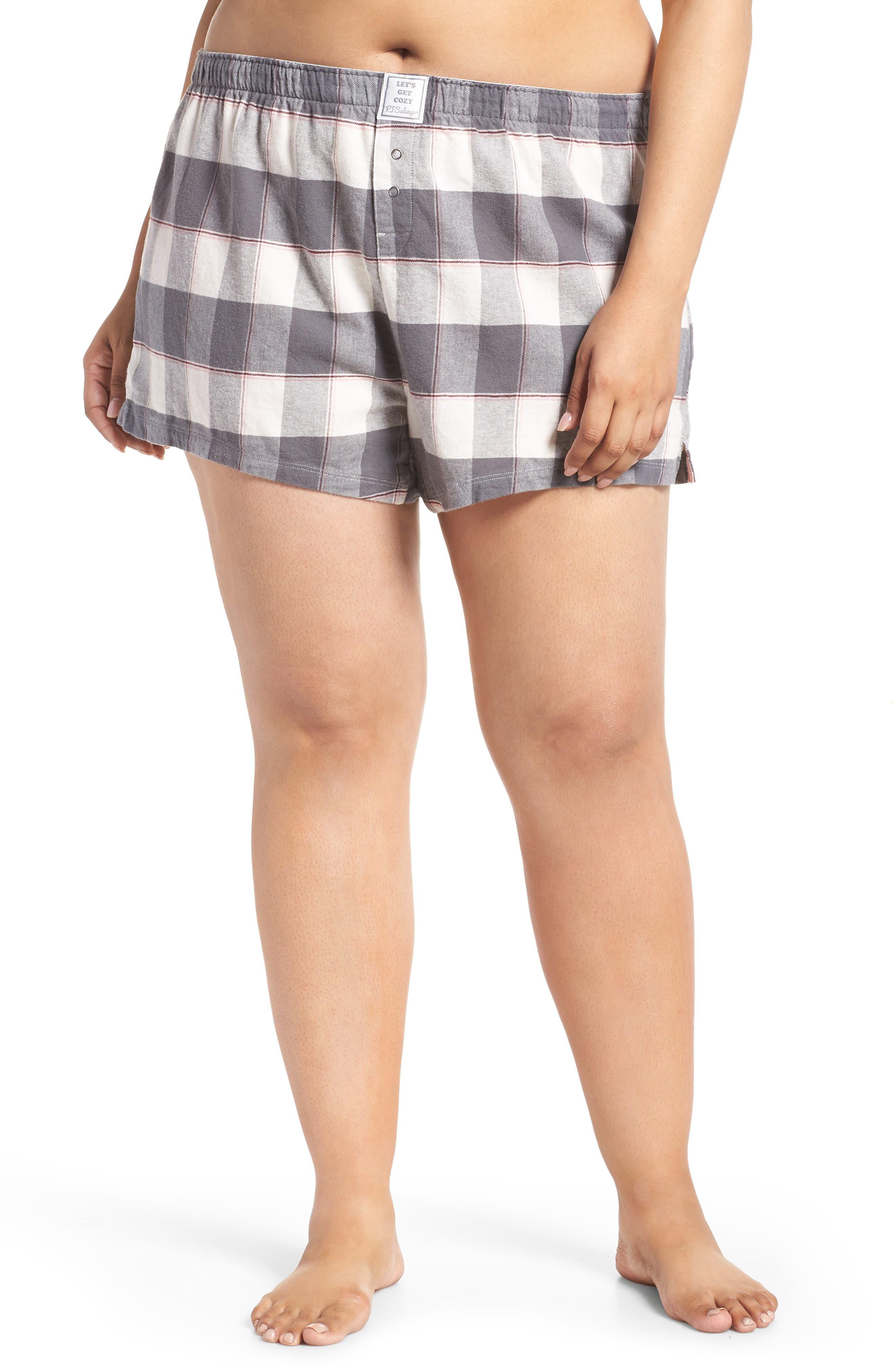 Cozy Time Shorts,                         Main,                         color, GREY