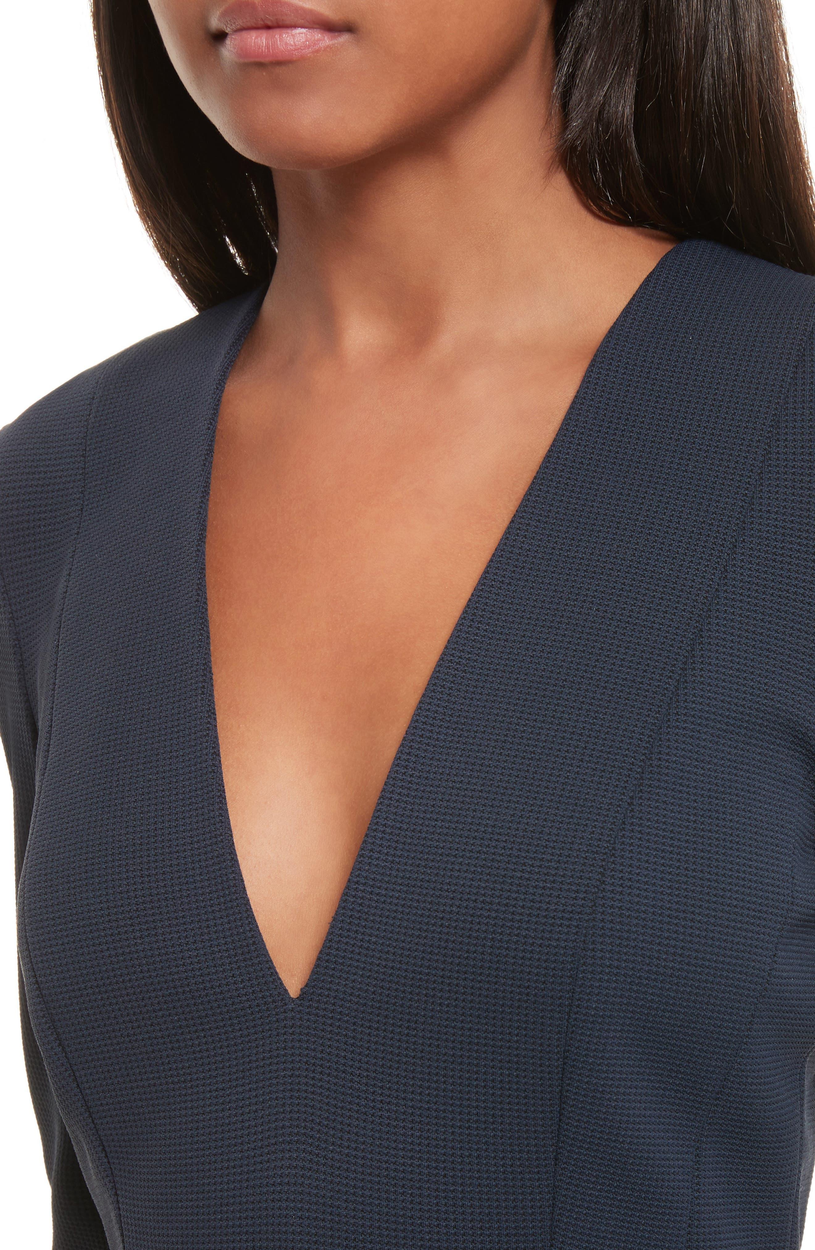 Tuscon Knit A-Line Dress,                             Alternate thumbnail 4, color,                             491