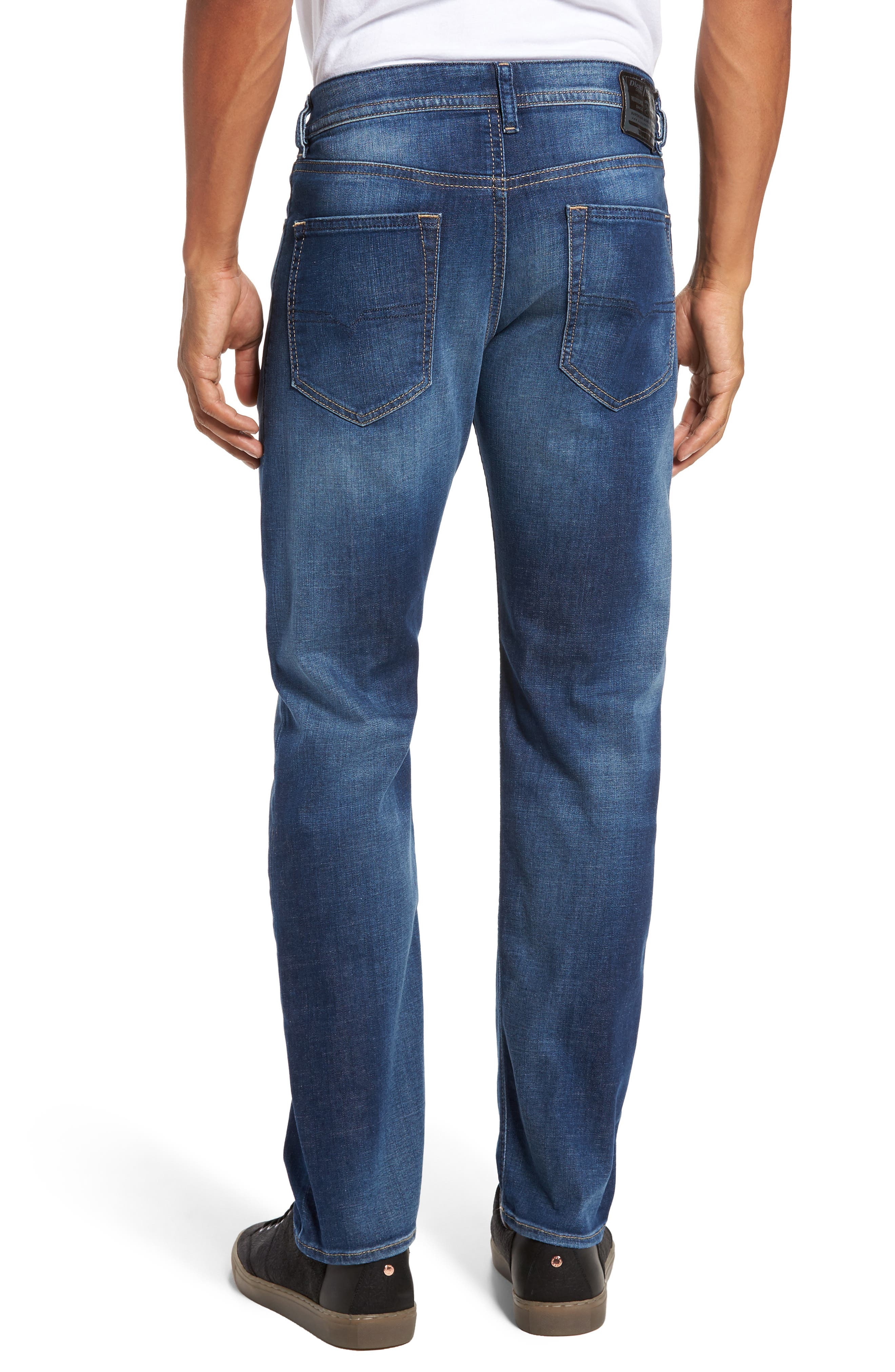 Buster Slim Straight Leg Jeans,                             Alternate thumbnail 2, color,                             400