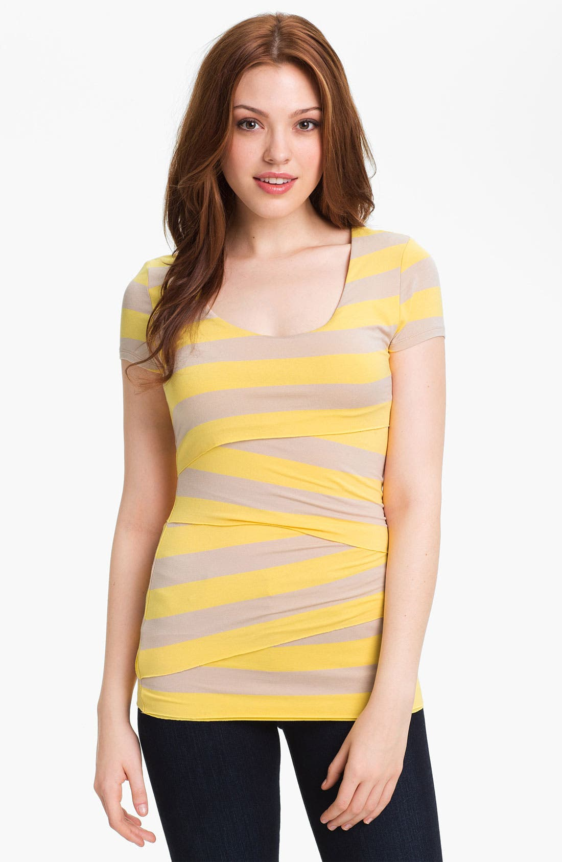 Stripe Bandage Top,                             Main thumbnail 5, color,