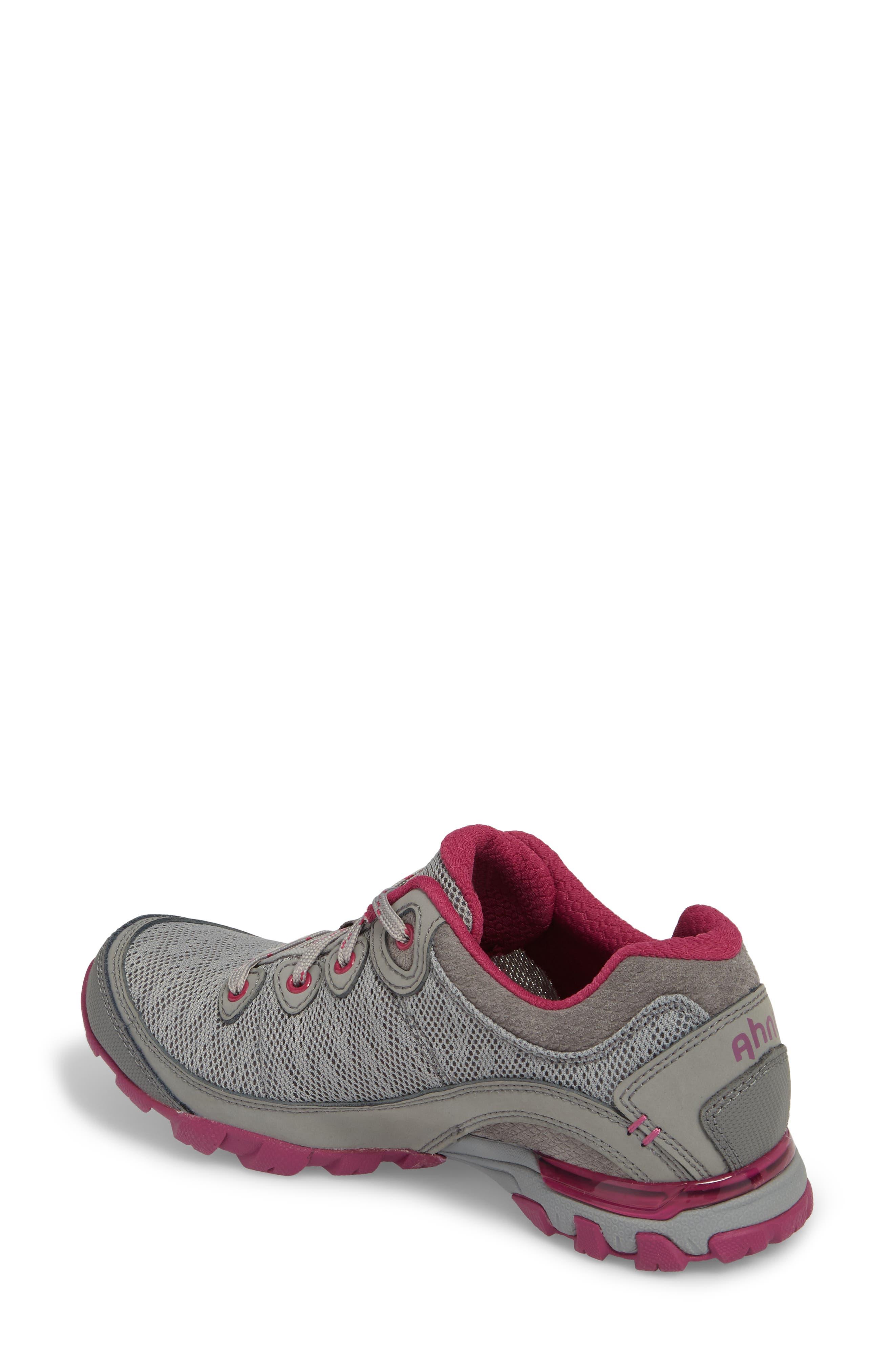 Ahnu by Teva Sugarpine II Air Mesh Hiking Waterproof Sneaker,                             Alternate thumbnail 2, color,                             WILD DOVE