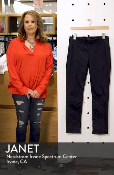 Alina High Waist  Pull-On Ankle Skinny Jeans, sales video thumbnail