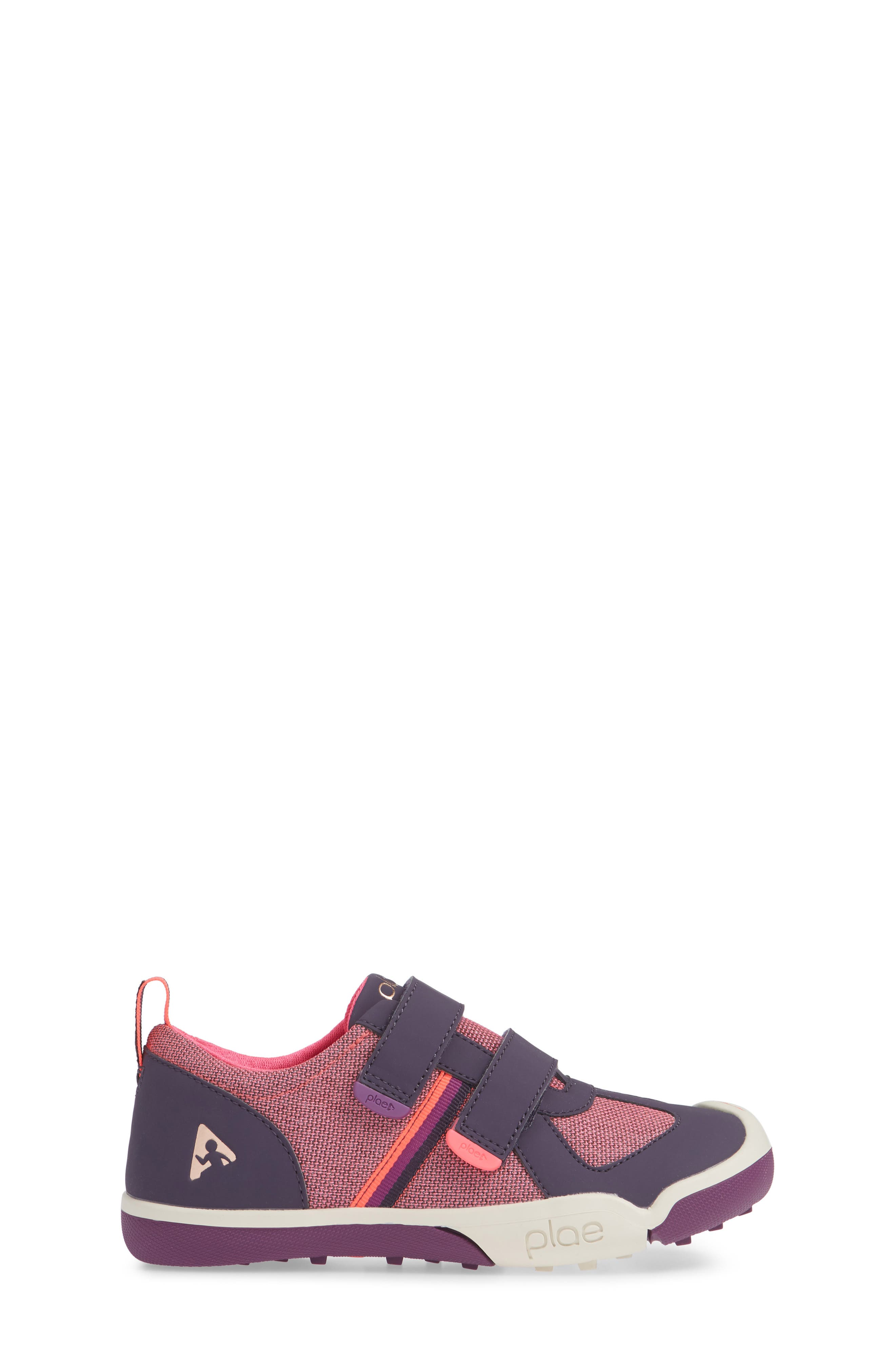 Charlie Customizable Waterproof Sneaker,                             Alternate thumbnail 3, color,                             MYSTIC BERRY