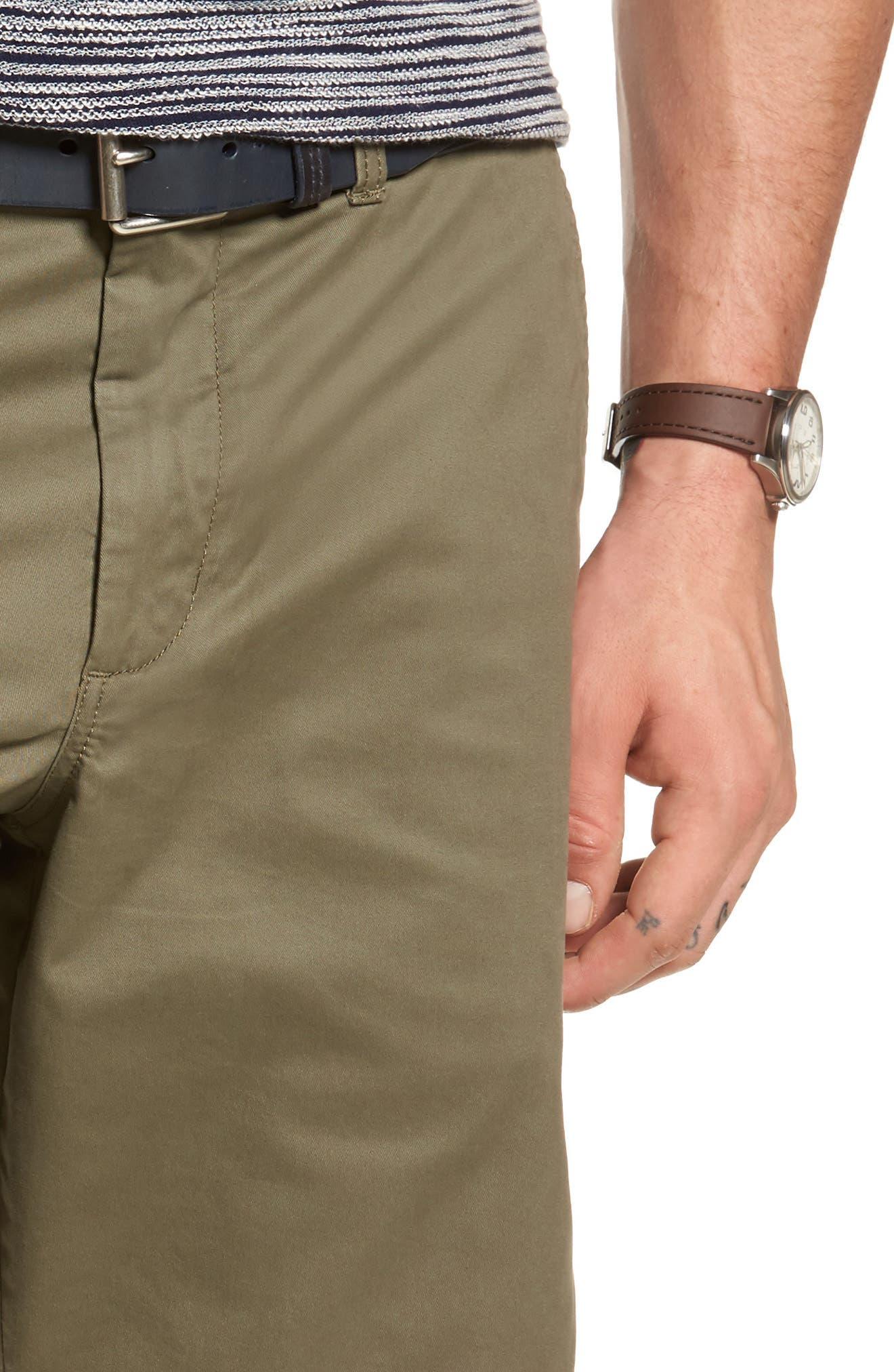 Ballard Slim Fit Stretch Chino 11-Inch Shorts,                             Alternate thumbnail 56, color,
