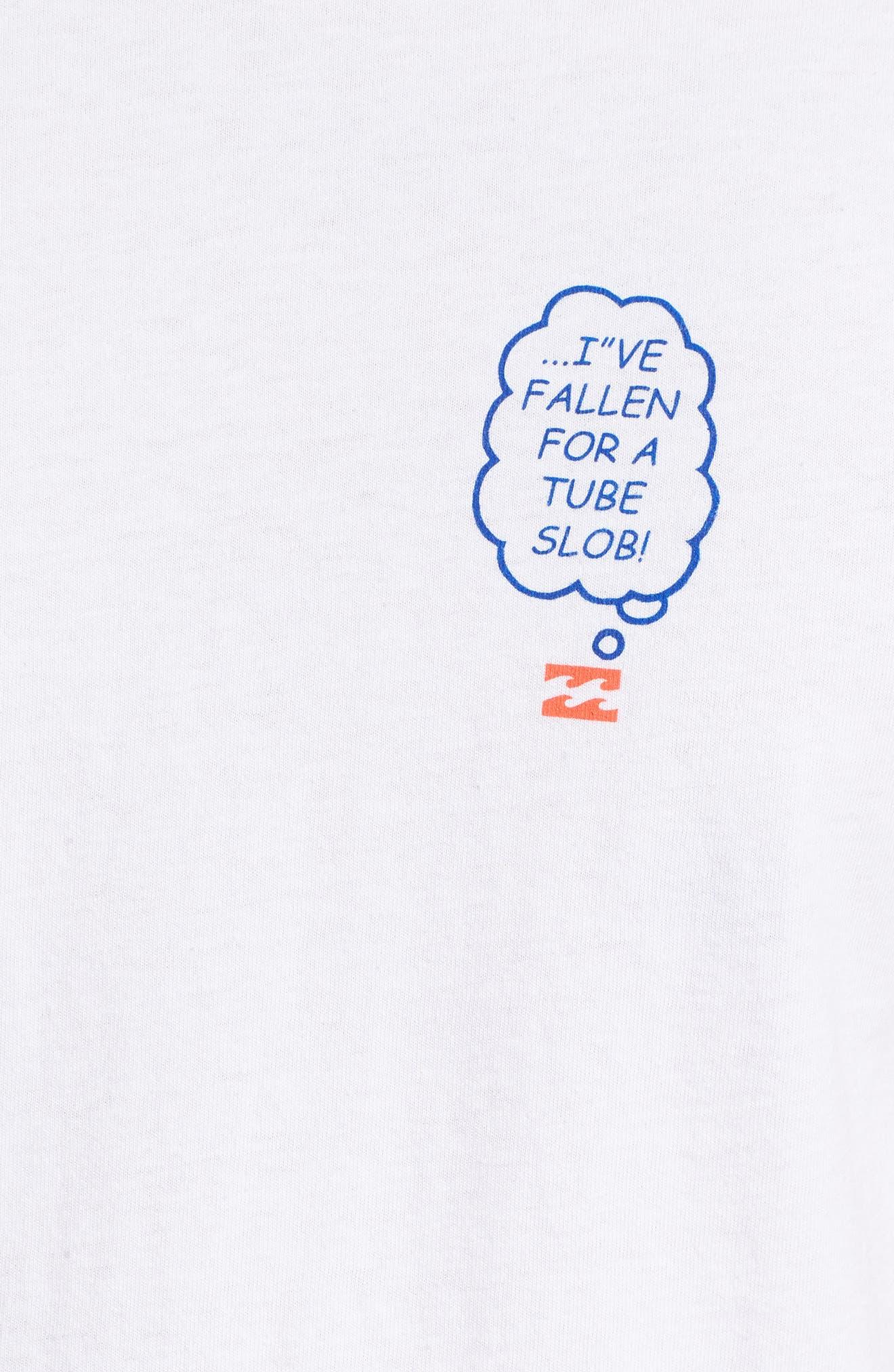 Tube Slob Graphic T-Shirt,                             Alternate thumbnail 5, color,