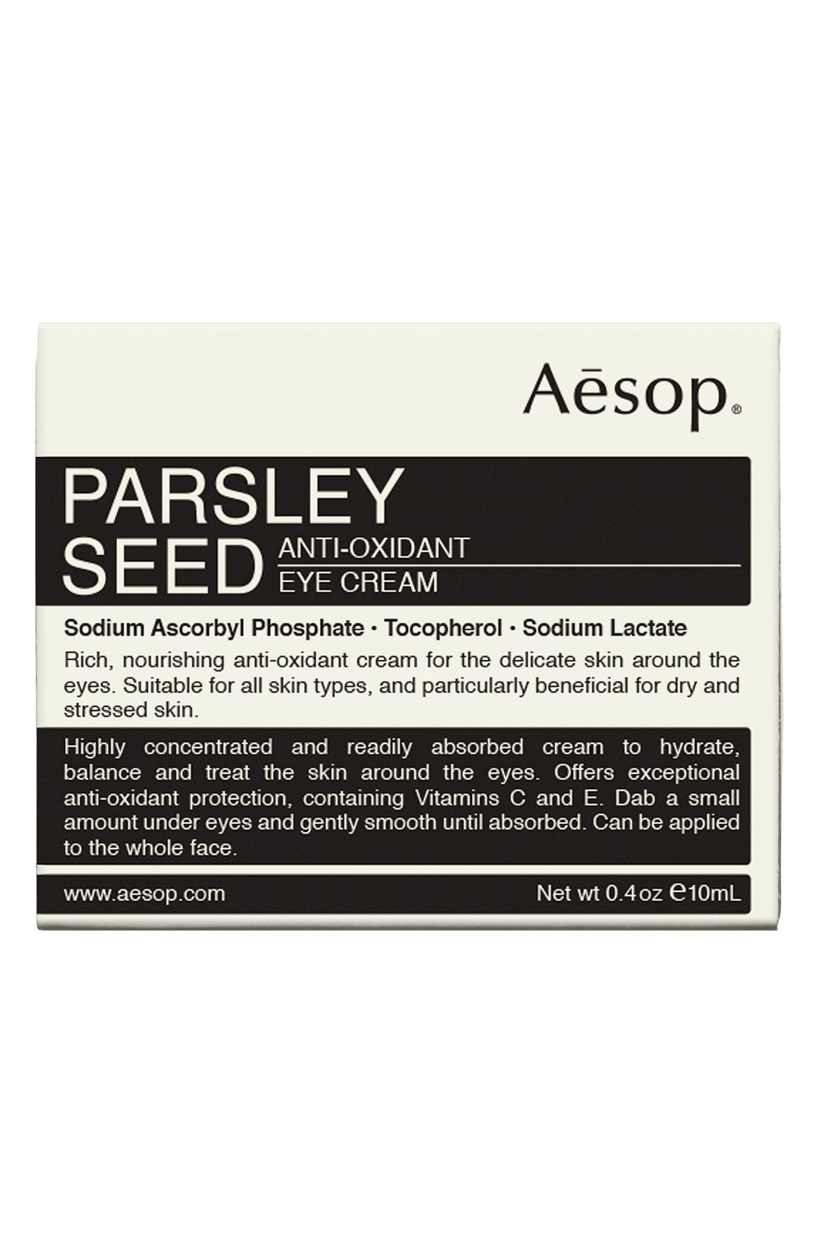 Parsley Seed Anti-Oxidant Eye Cream,                         Main,                         color, NONE