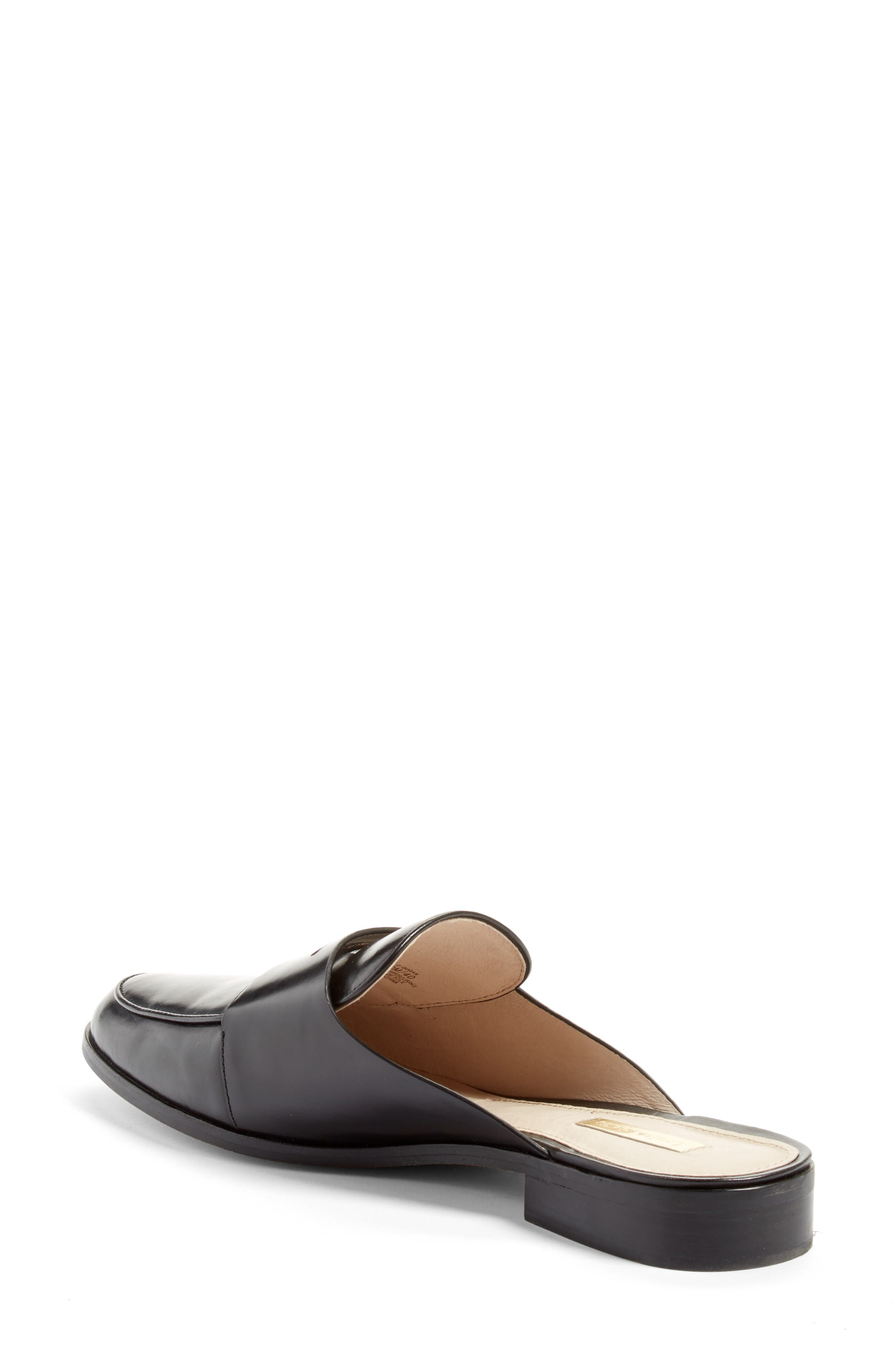 Dugan Flat Loafer Mule,                             Alternate thumbnail 6, color,
