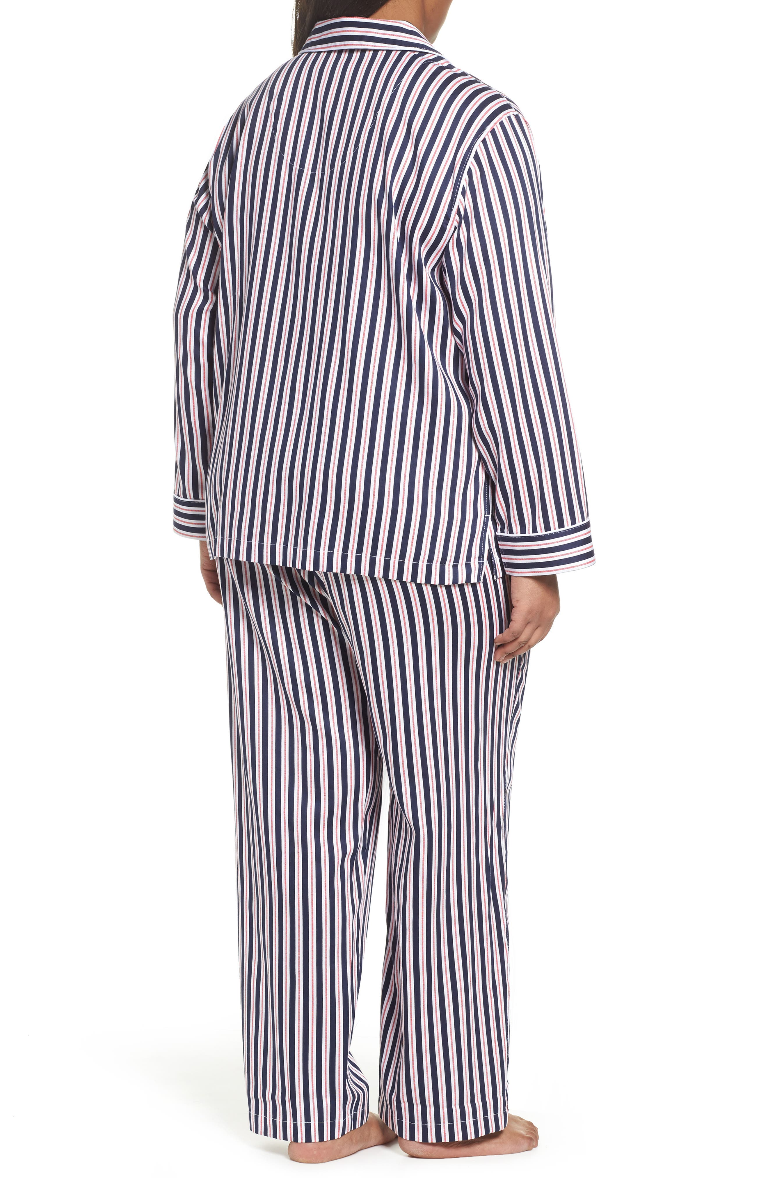Sateen Pajamas,                             Alternate thumbnail 2, color,                             600