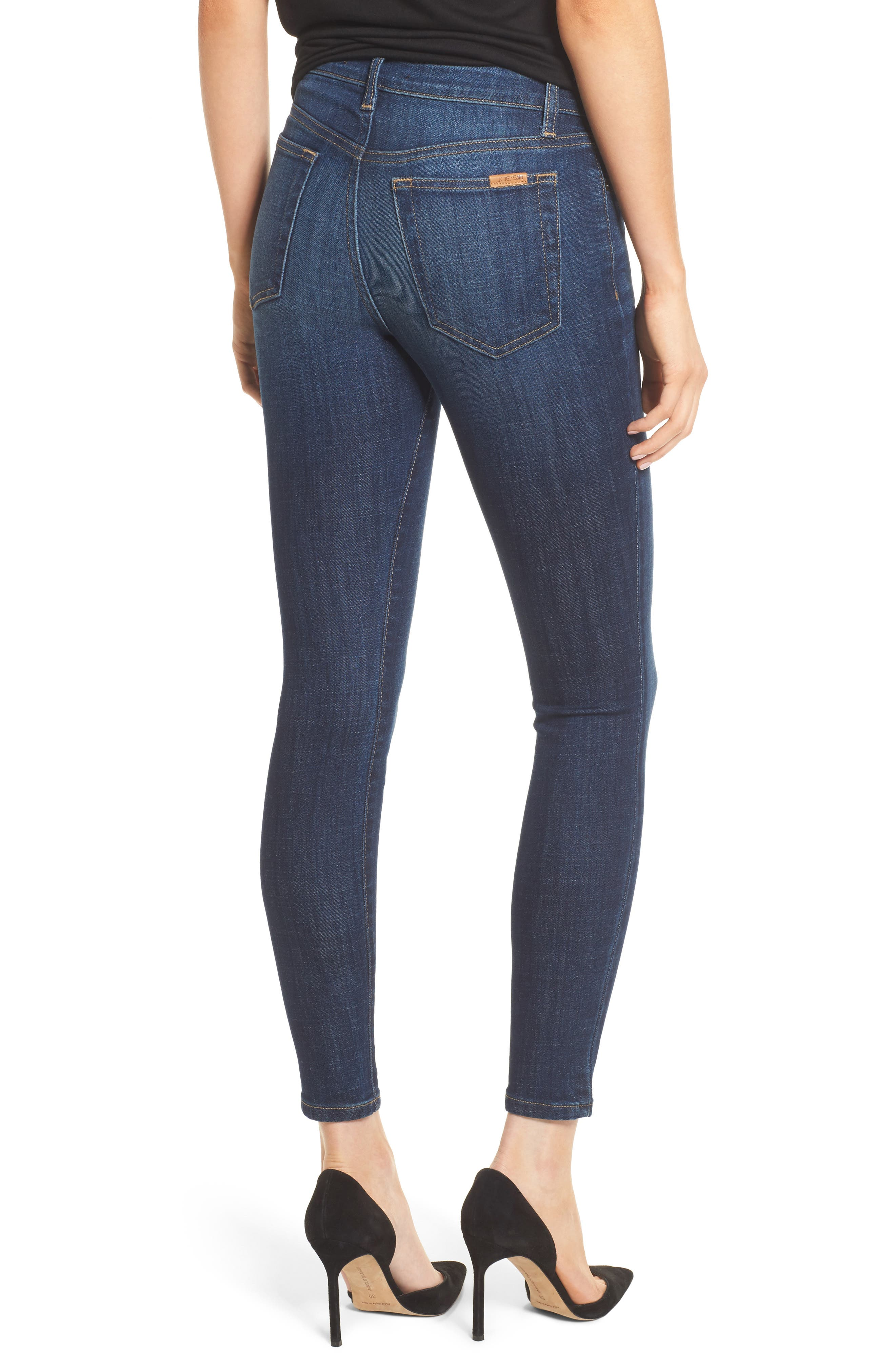 Flawless - Icon Skinny Ankle Jeans,                             Alternate thumbnail 2, color,                             400