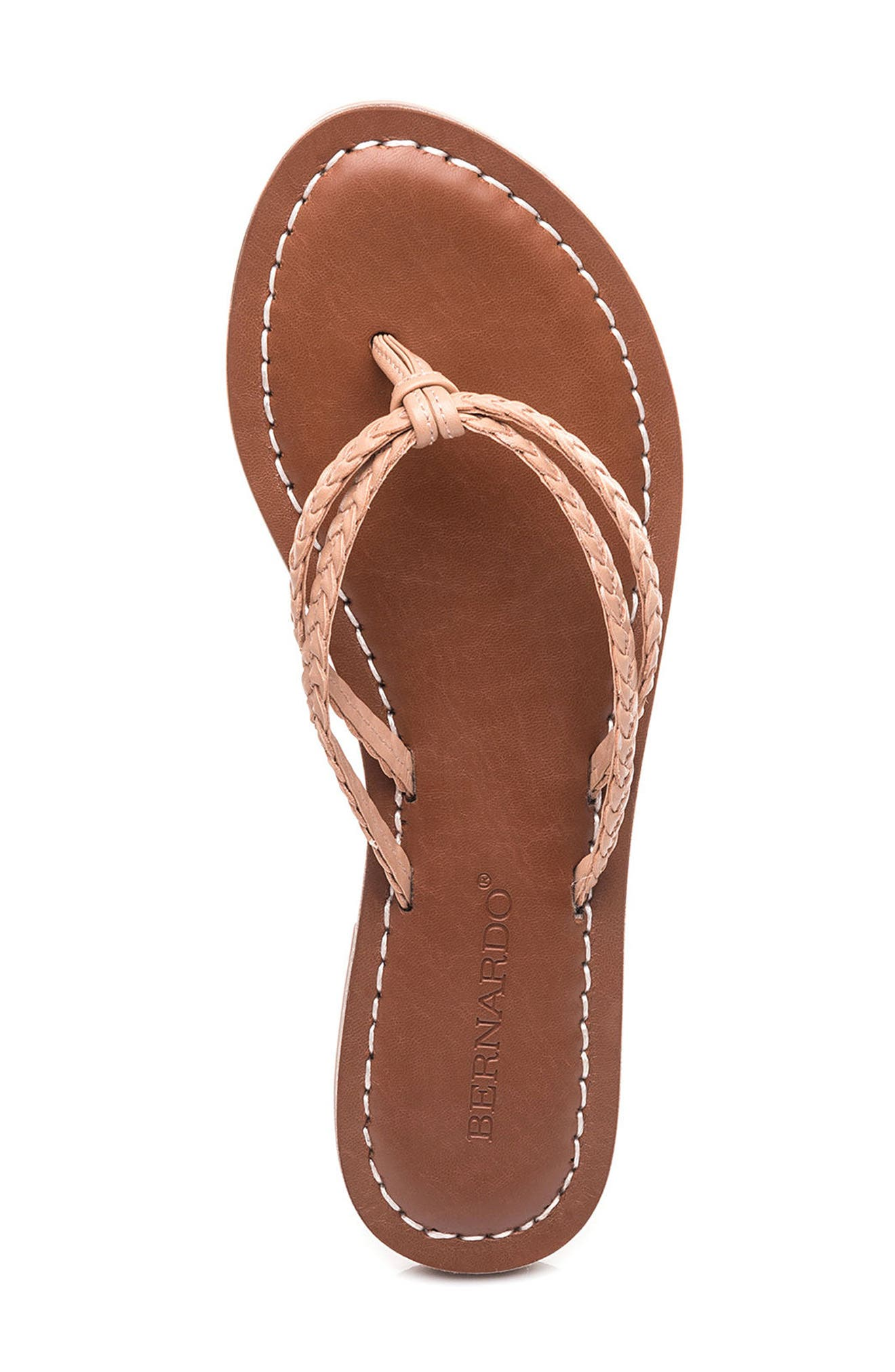 Bernardo Greta Braided Strap Sandal,                             Alternate thumbnail 33, color,