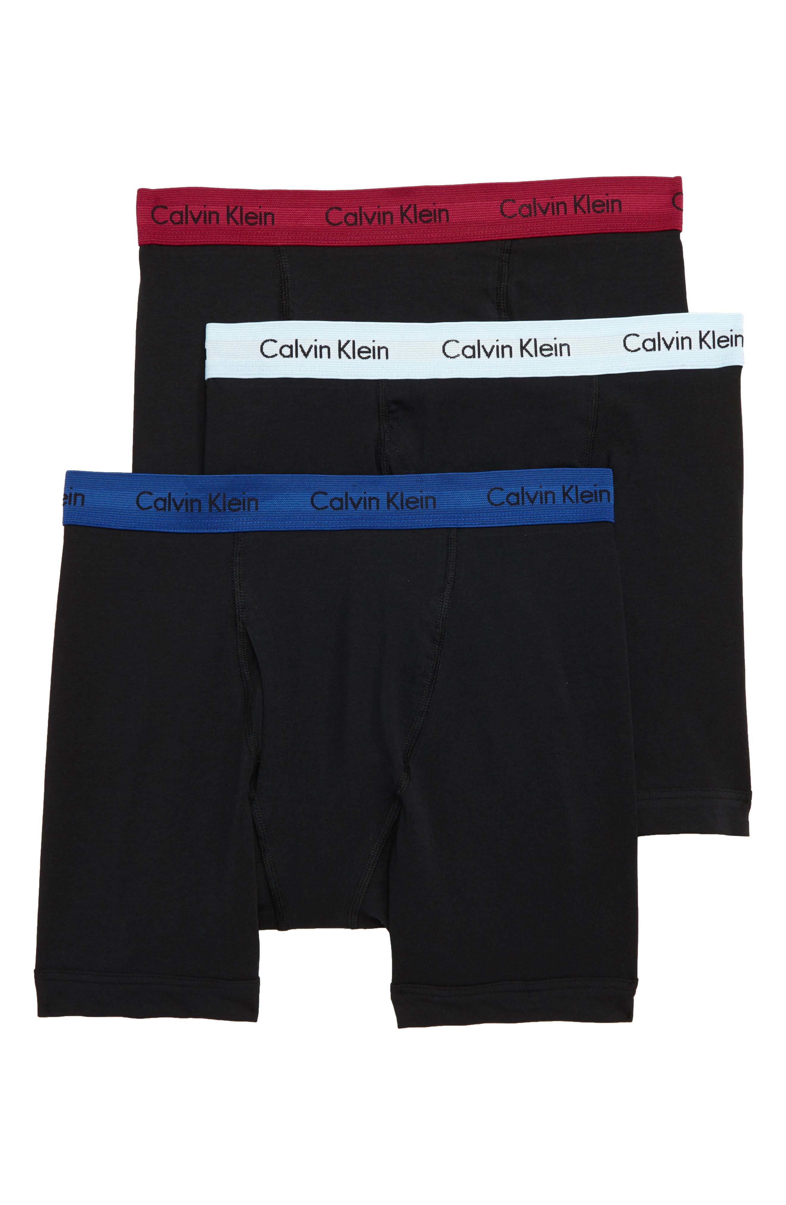 CALVIN KLEIN,                             3-Pack Boxer Briefs,                             Main thumbnail 1, color,                             009