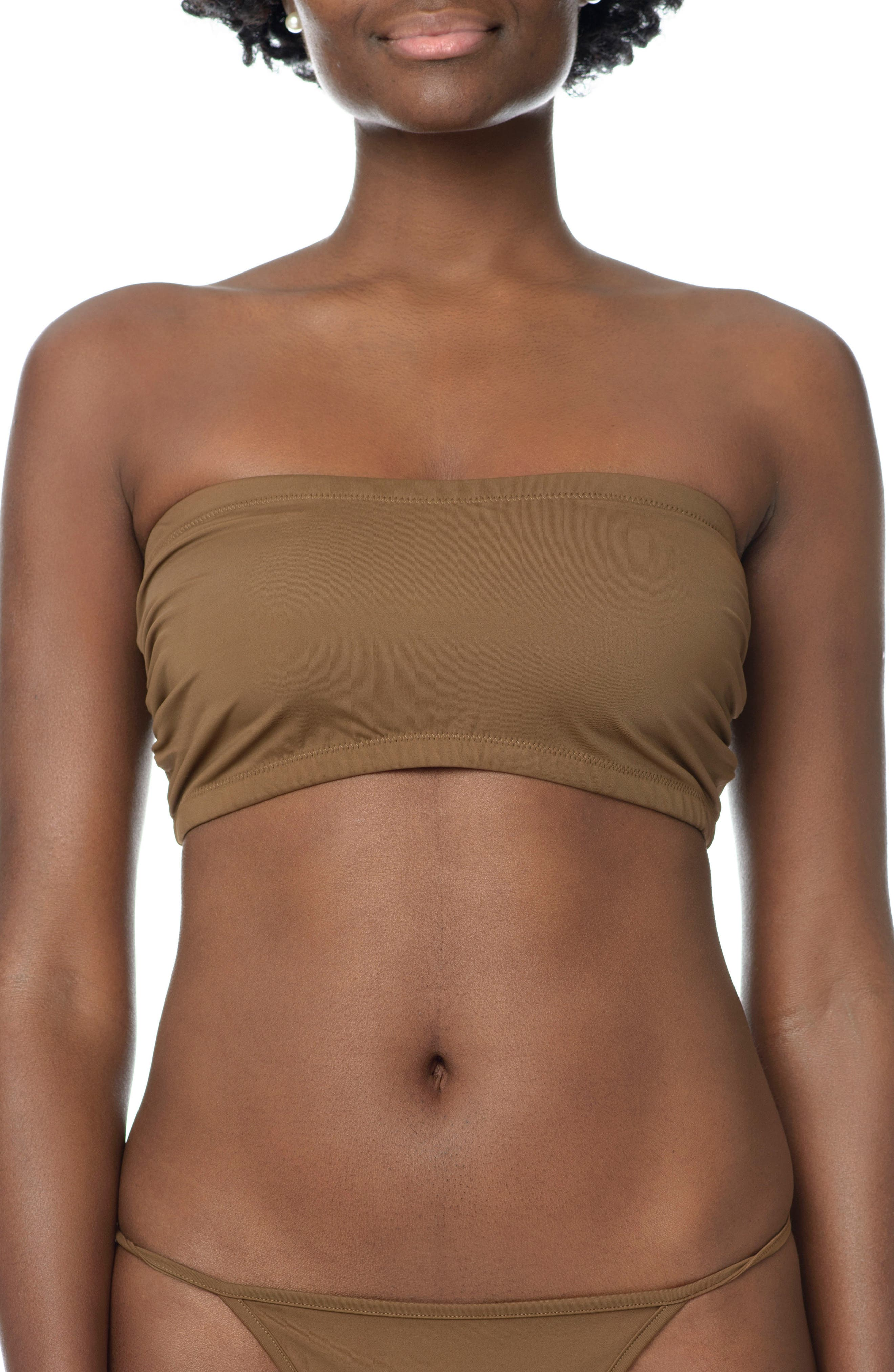 Naked Bandeau,                         Main,                         color, BERRY