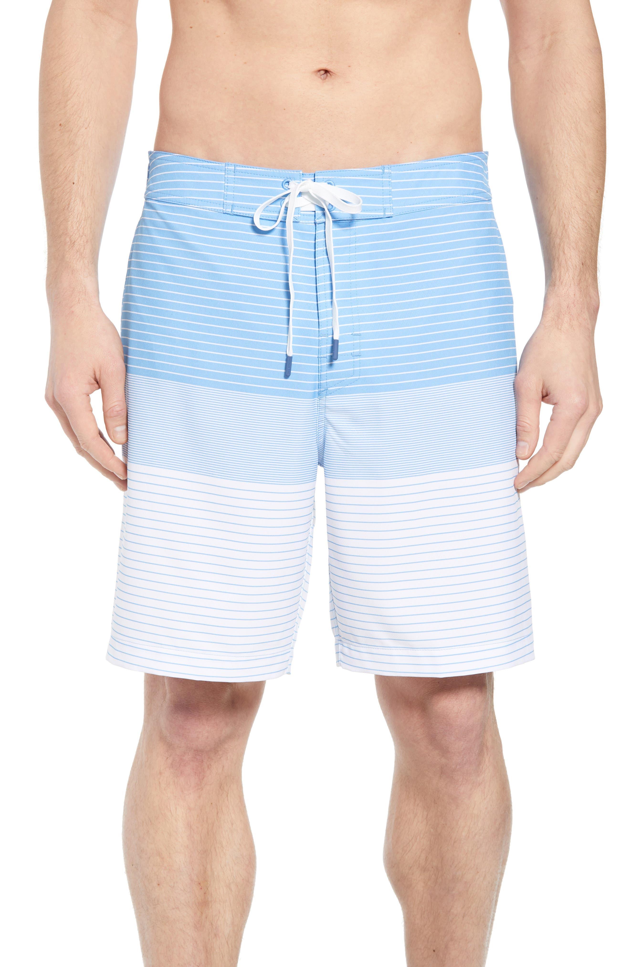 Stripe Swim Trunks,                         Main,                         color,