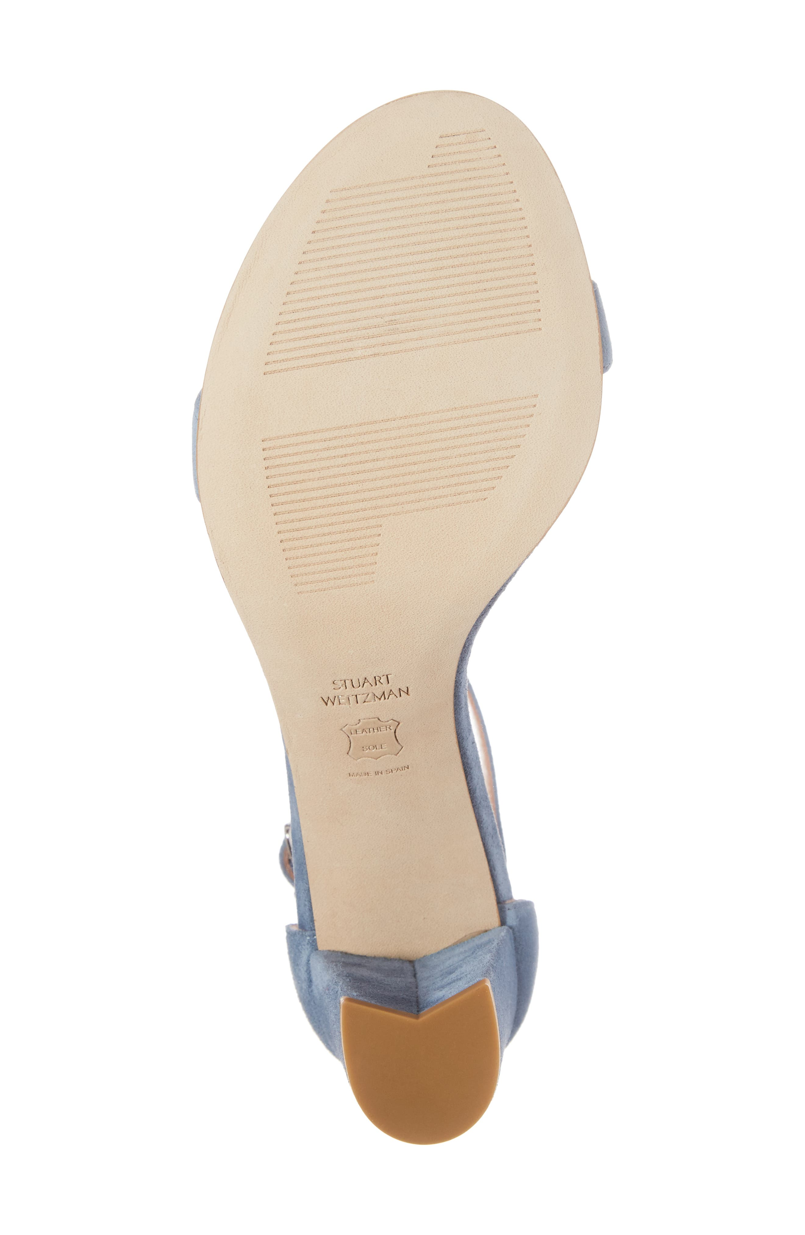 NearlyNude Ankle Strap Sandal,                             Alternate thumbnail 140, color,