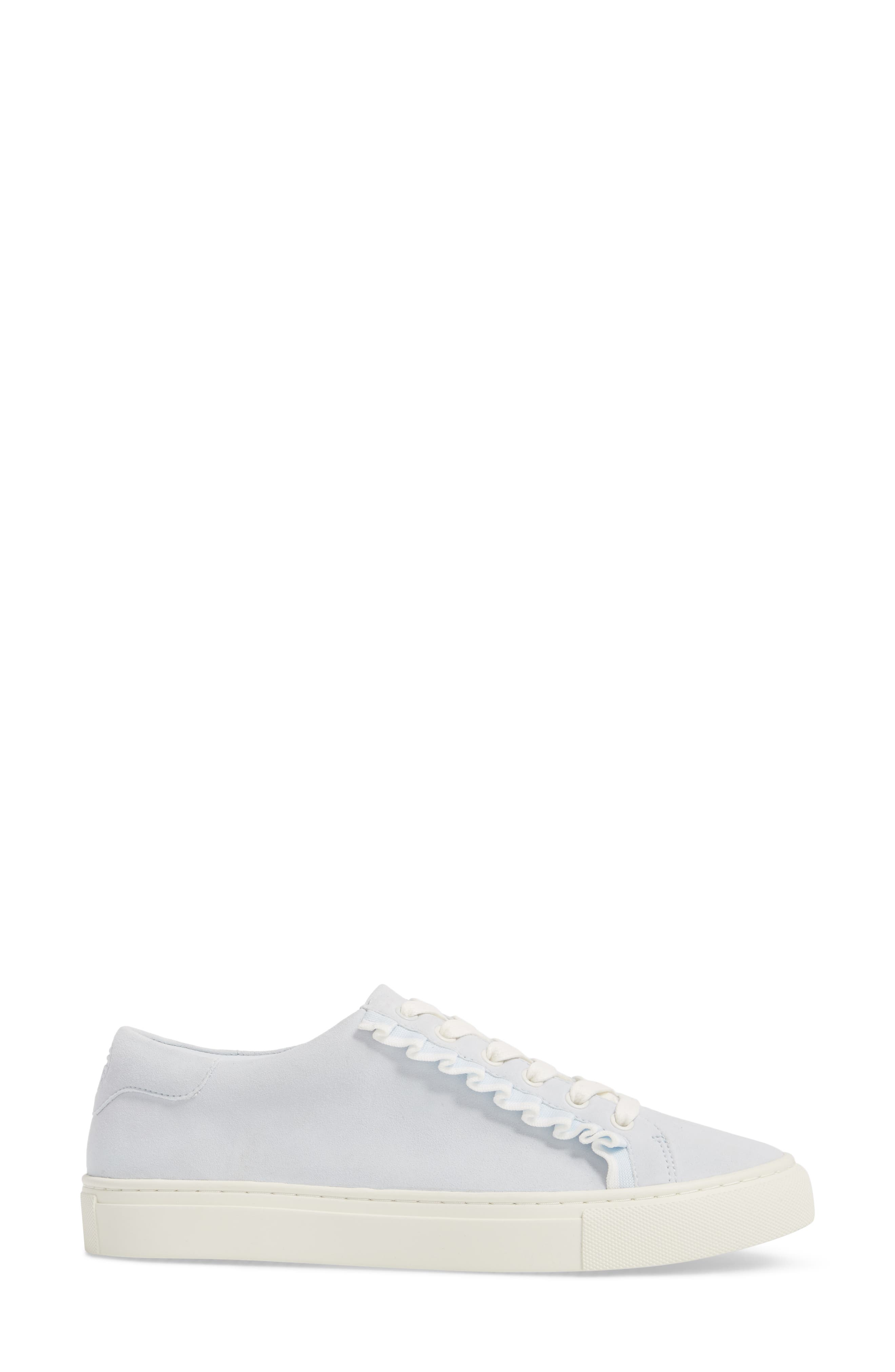 Ruffle Sneaker,                             Alternate thumbnail 3, color,                             401