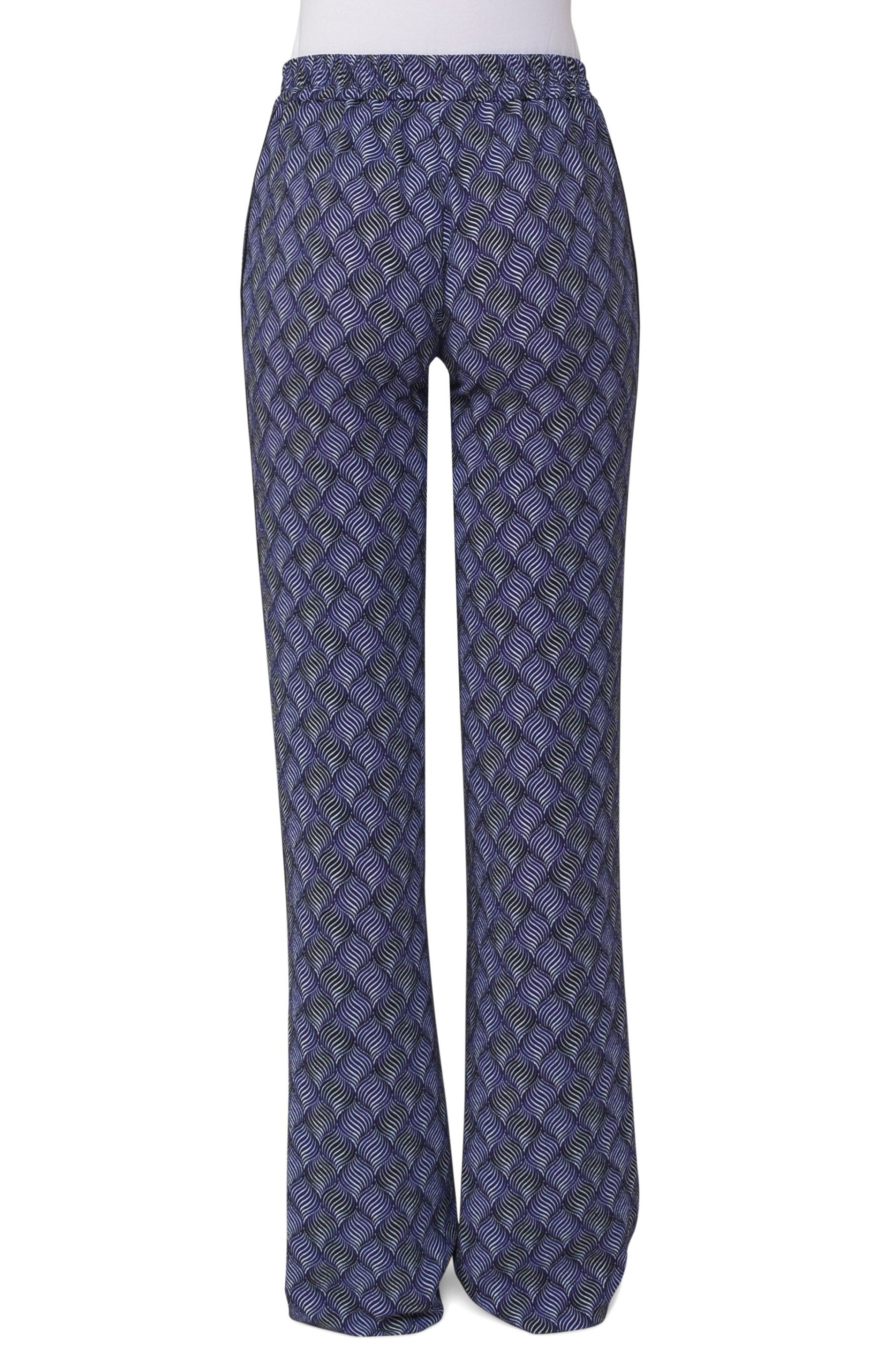 Marla Print Wide Leg Pants,                             Alternate thumbnail 2, color,                             400