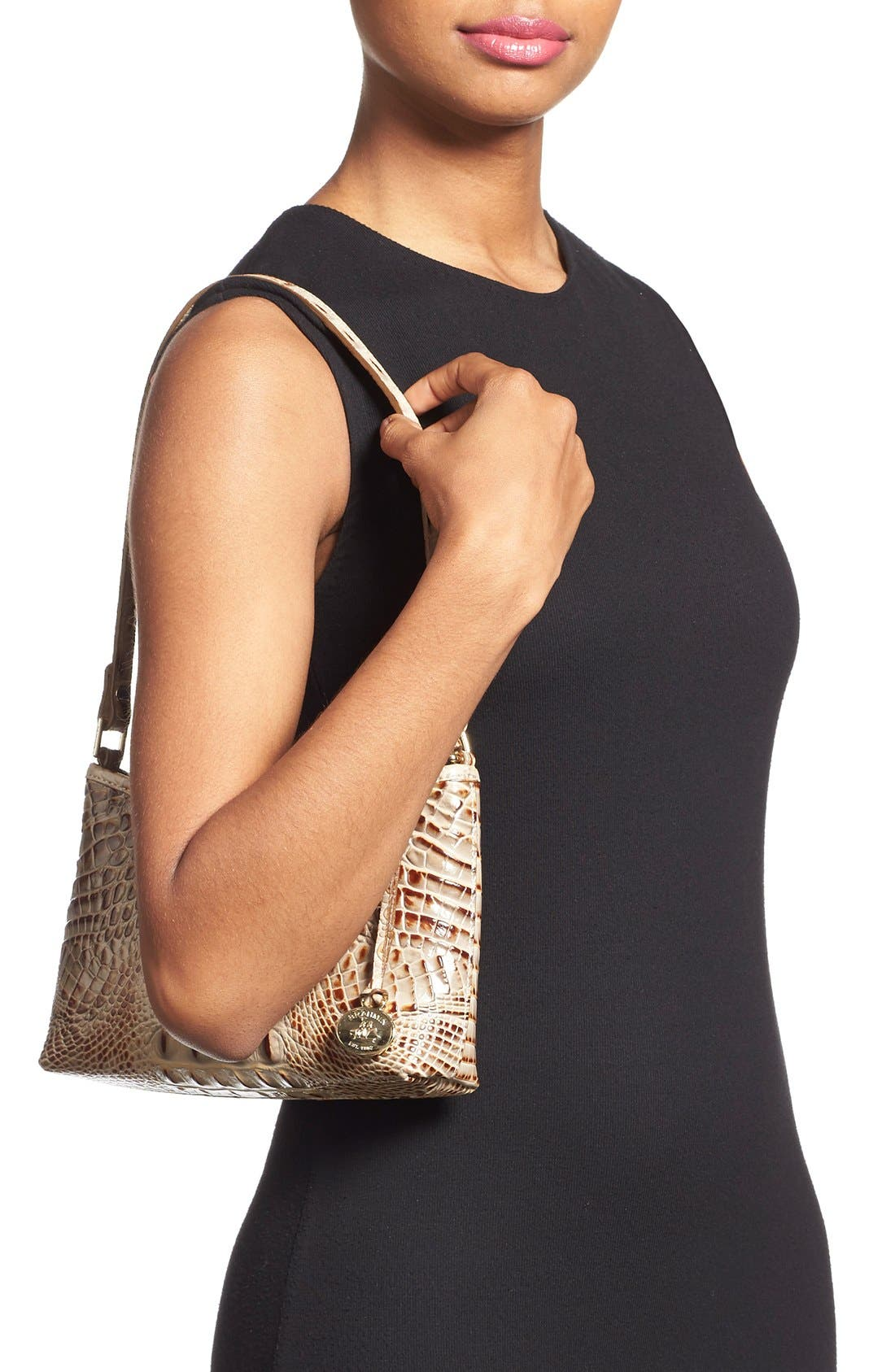 'Anytime - Mini' Convertible Handbag,                             Alternate thumbnail 75, color,