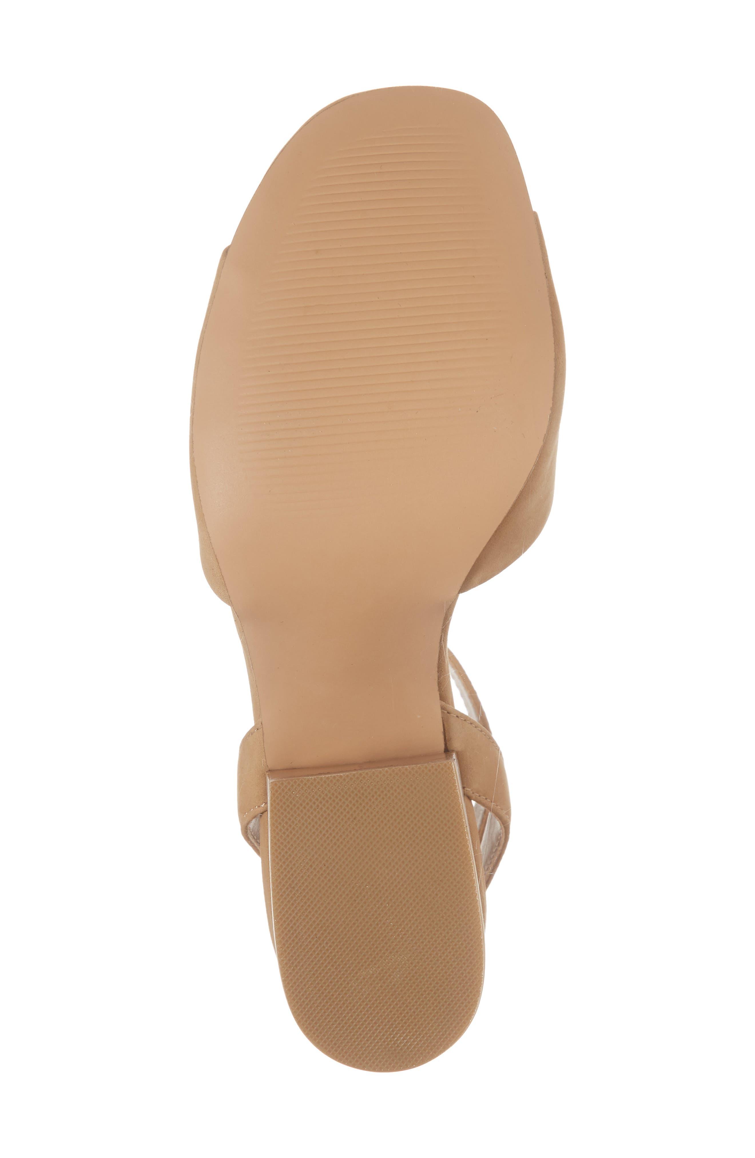 Devlin Block Heel Sandal,                             Alternate thumbnail 6, color,                             200