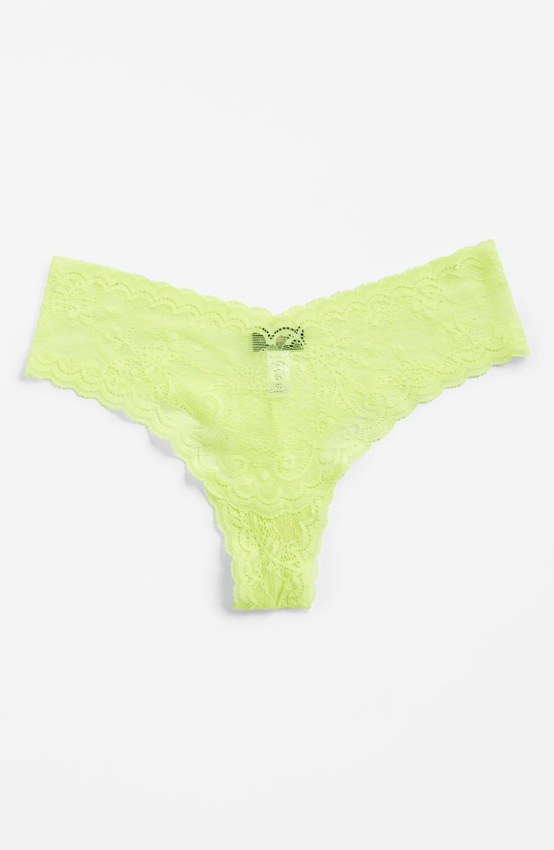 'Trenta' Low Rise Lace Thong,                             Alternate thumbnail 146, color,
