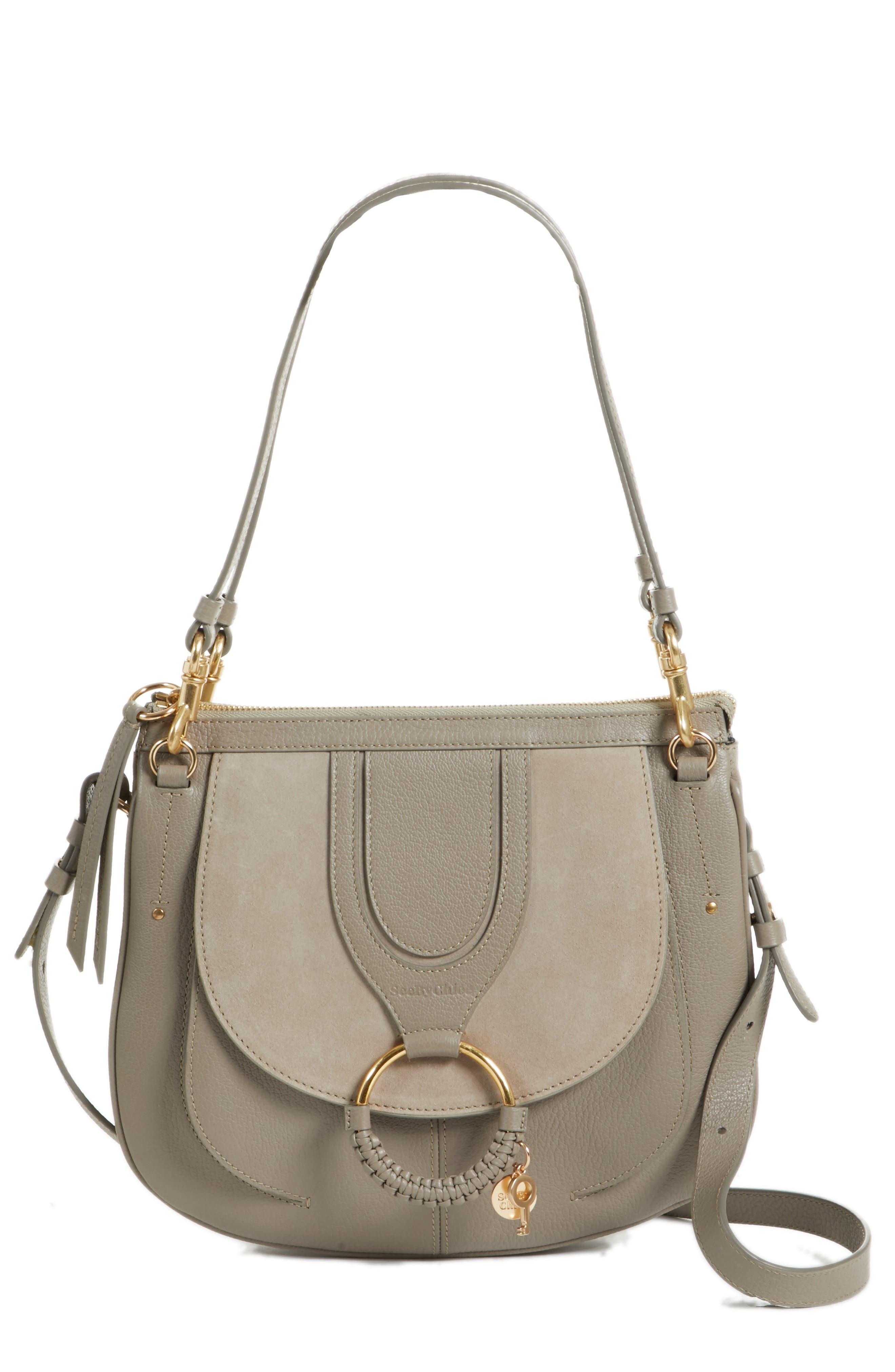 Hana Leather Shoulder Bag,                             Main thumbnail 2, color,