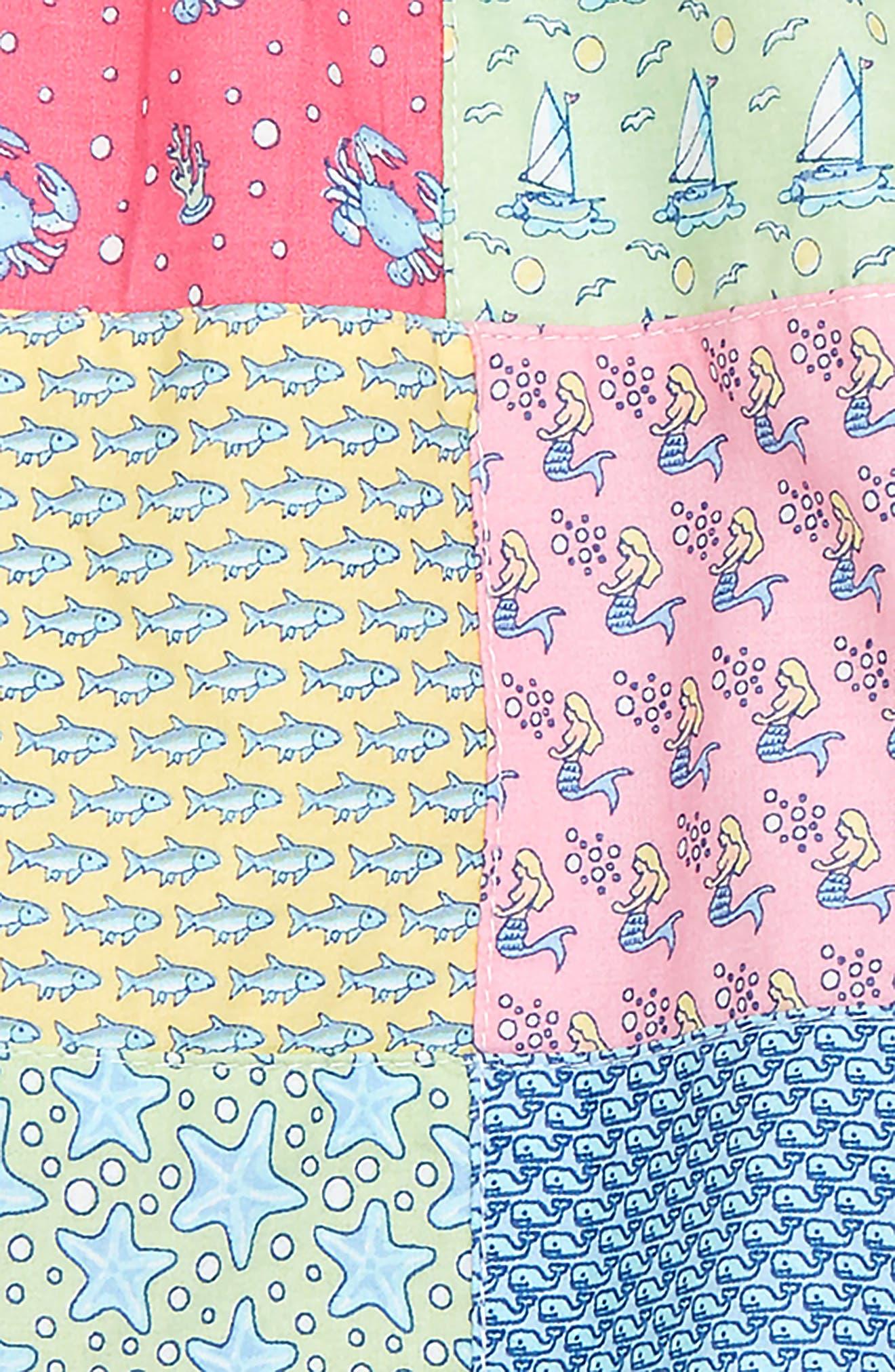 Patchwork Swing Dress,                             Alternate thumbnail 2, color,