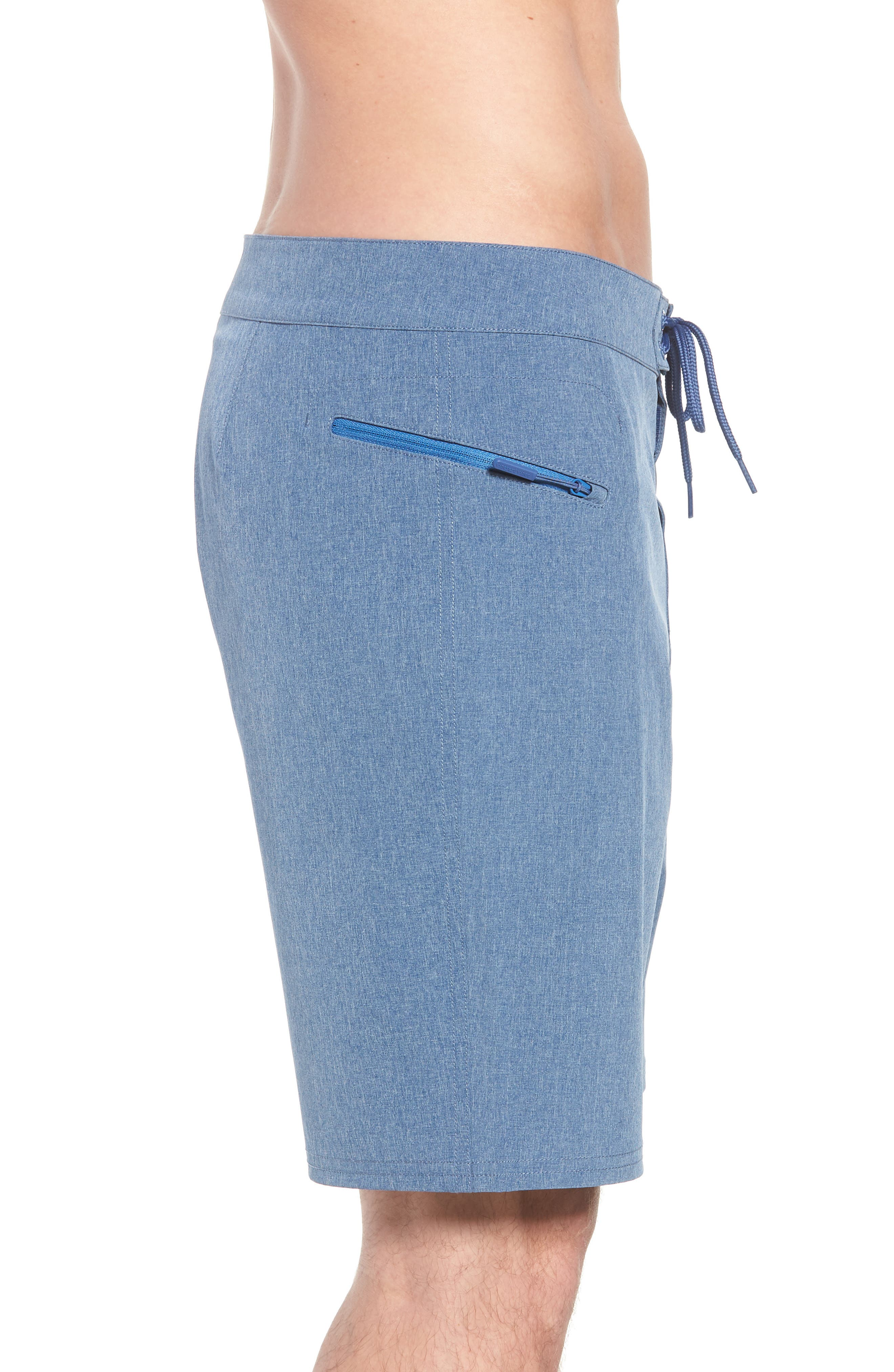 Heather Stretch Board Shorts,                             Alternate thumbnail 4, color,                             461