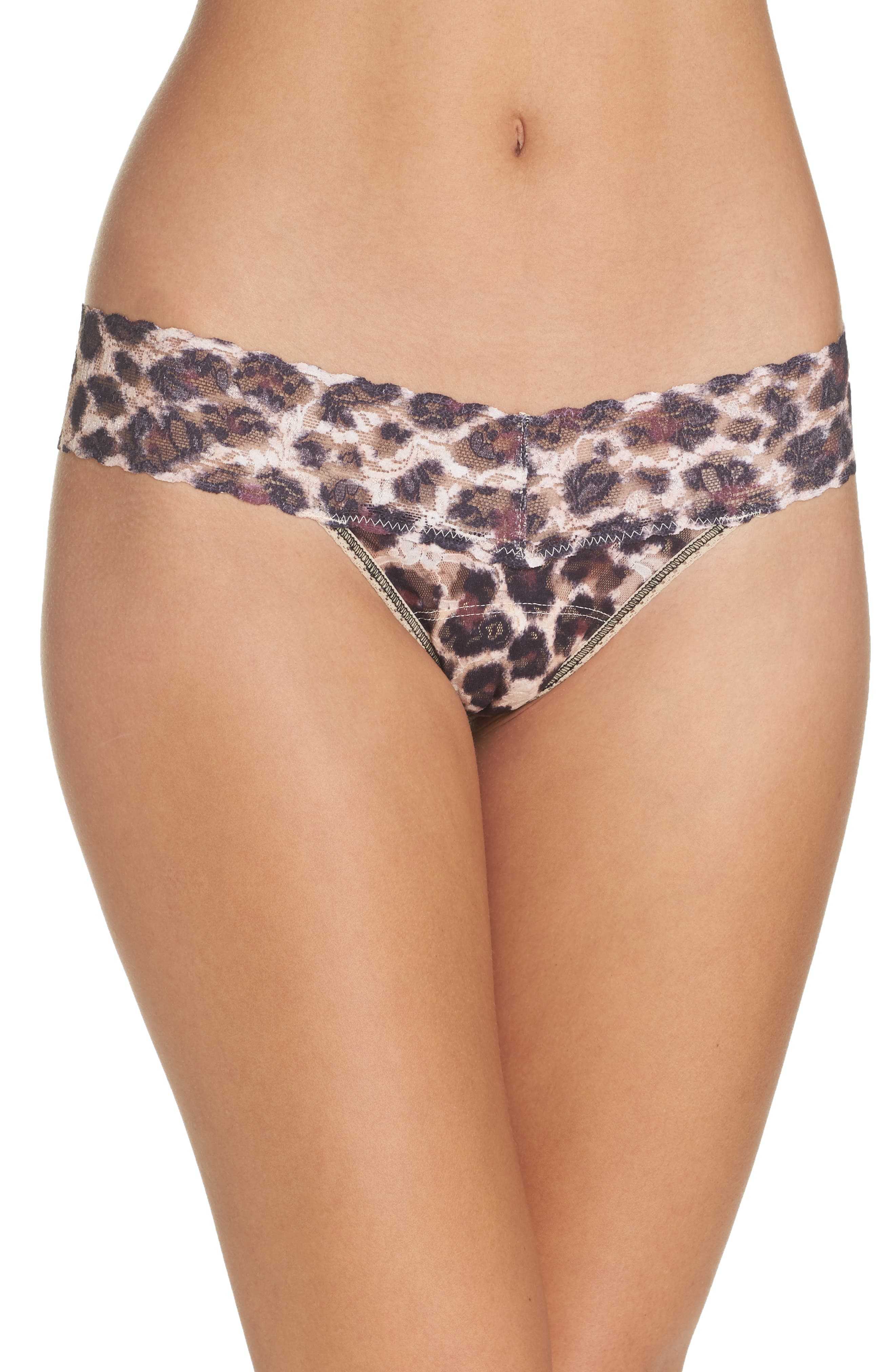 Print Original Rise Thong,                             Main thumbnail 1, color,                             SOPHISTICATE