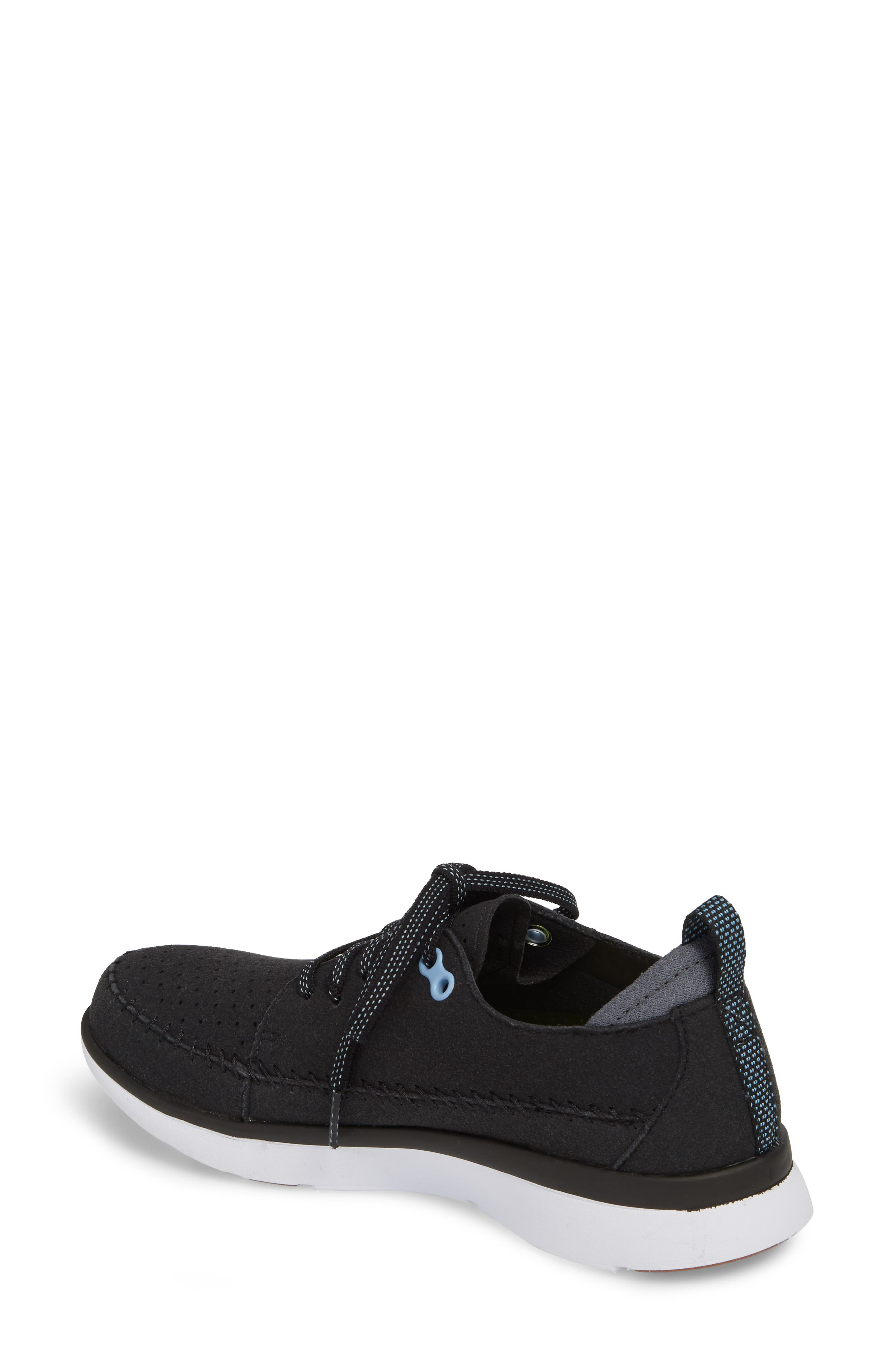 Addy Sneaker,                             Alternate thumbnail 2, color,                             BLACK FABRIC