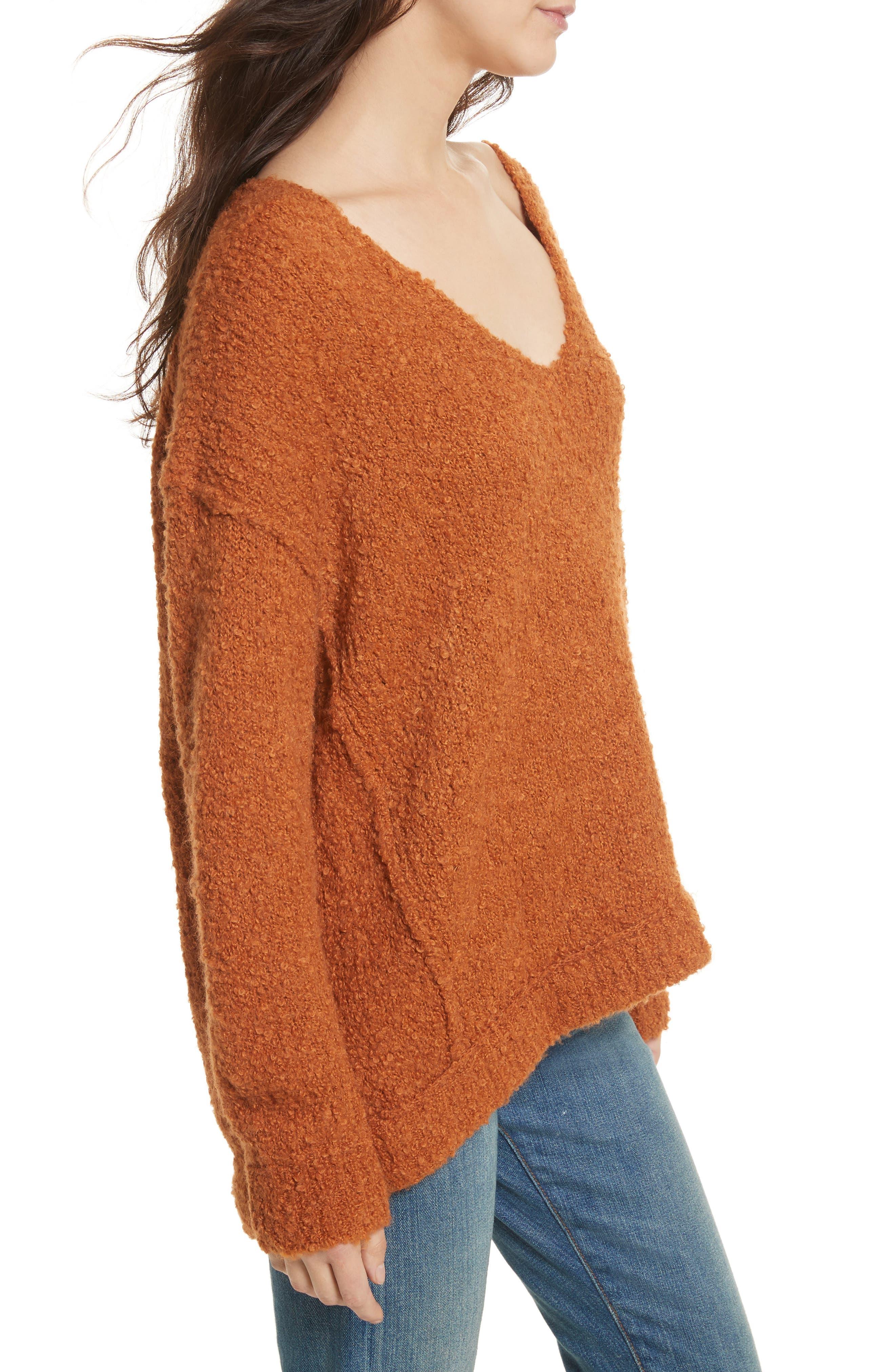 Lofty V-Neck Sweater,                             Alternate thumbnail 19, color,