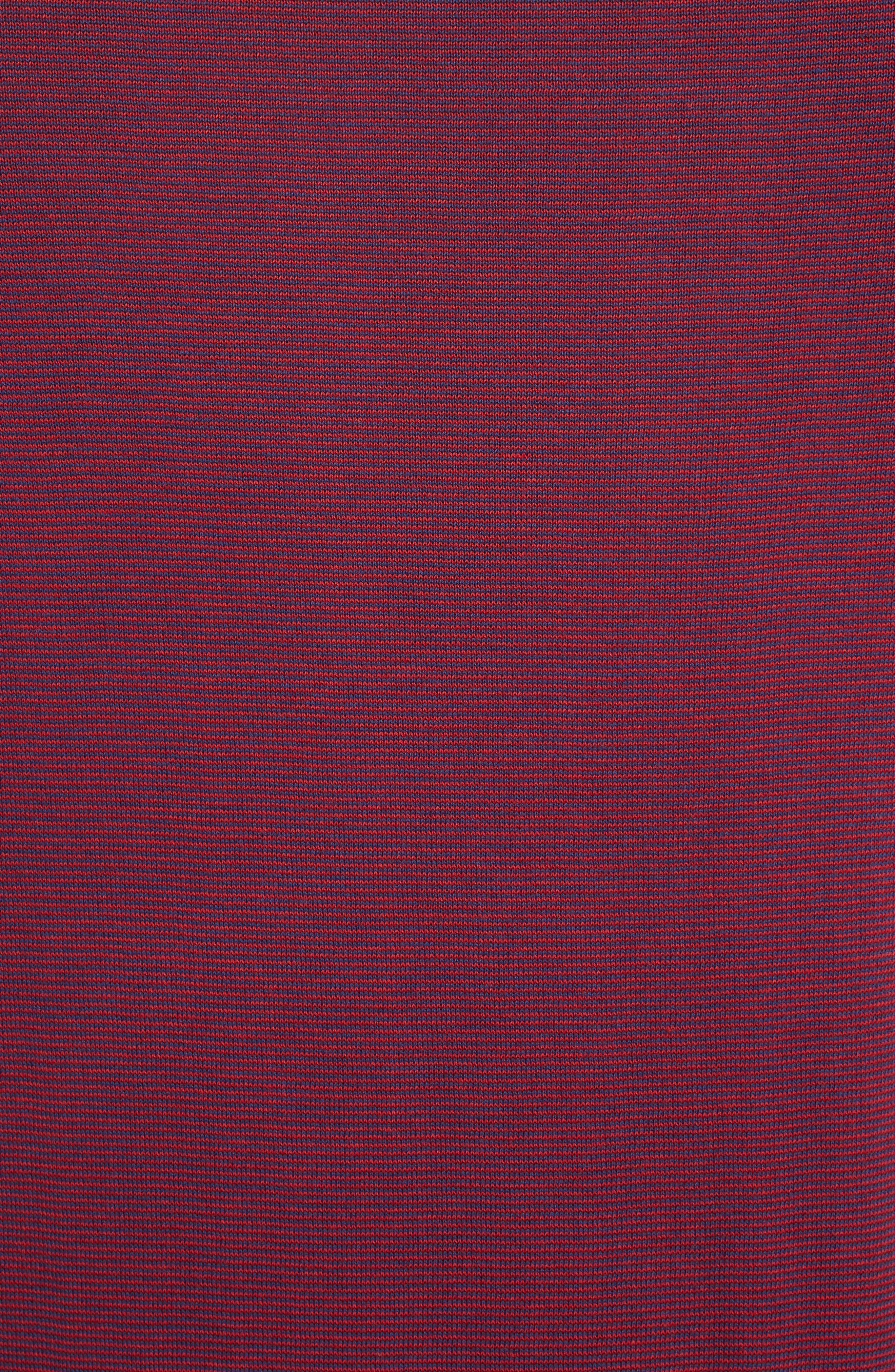 Ministripe Crewneck Sweater,                             Alternate thumbnail 5, color,                             415