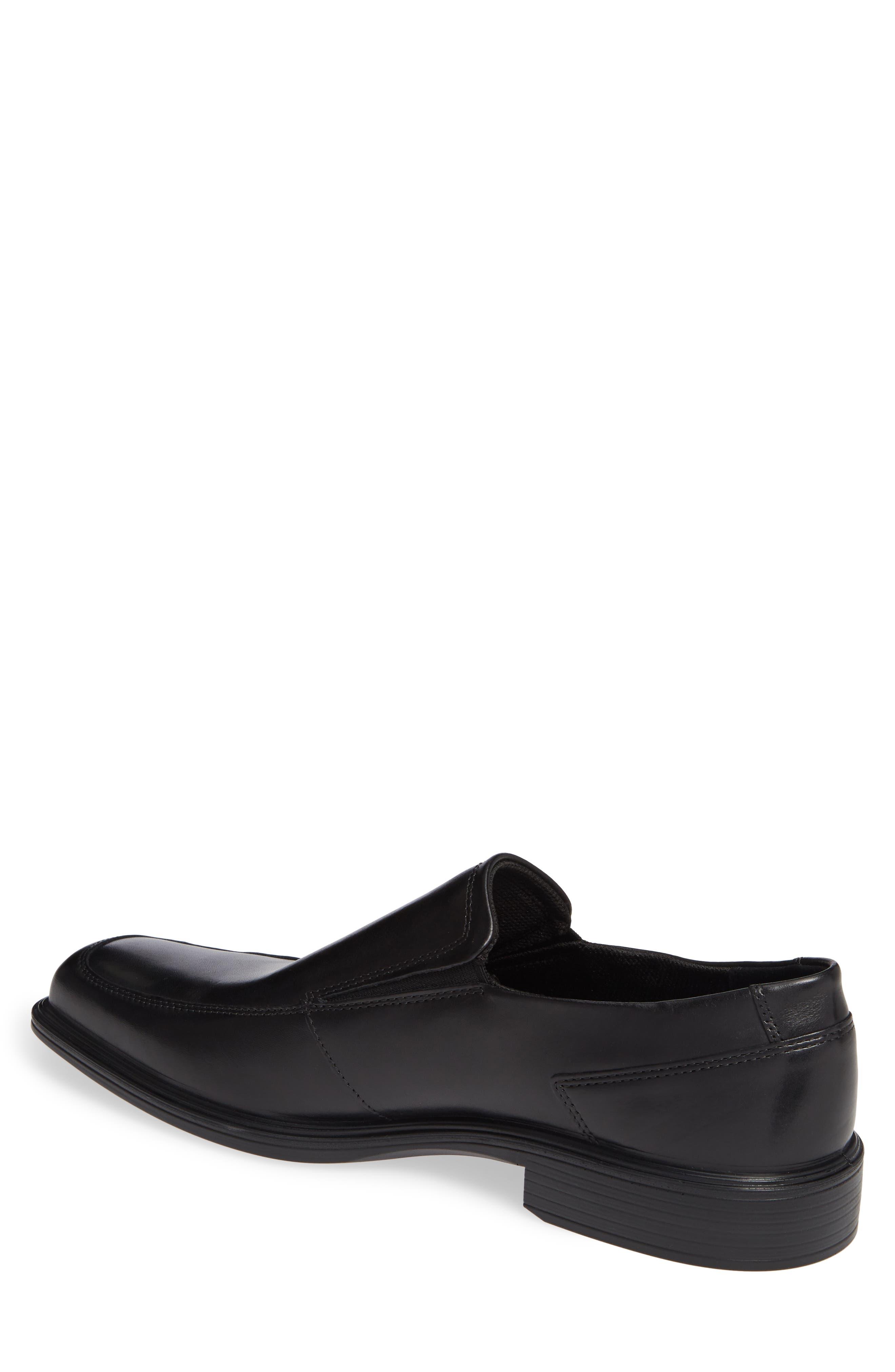 Minneapolis Venetian Loafer,                             Alternate thumbnail 2, color,                             BLACK/BLACK LEATHER