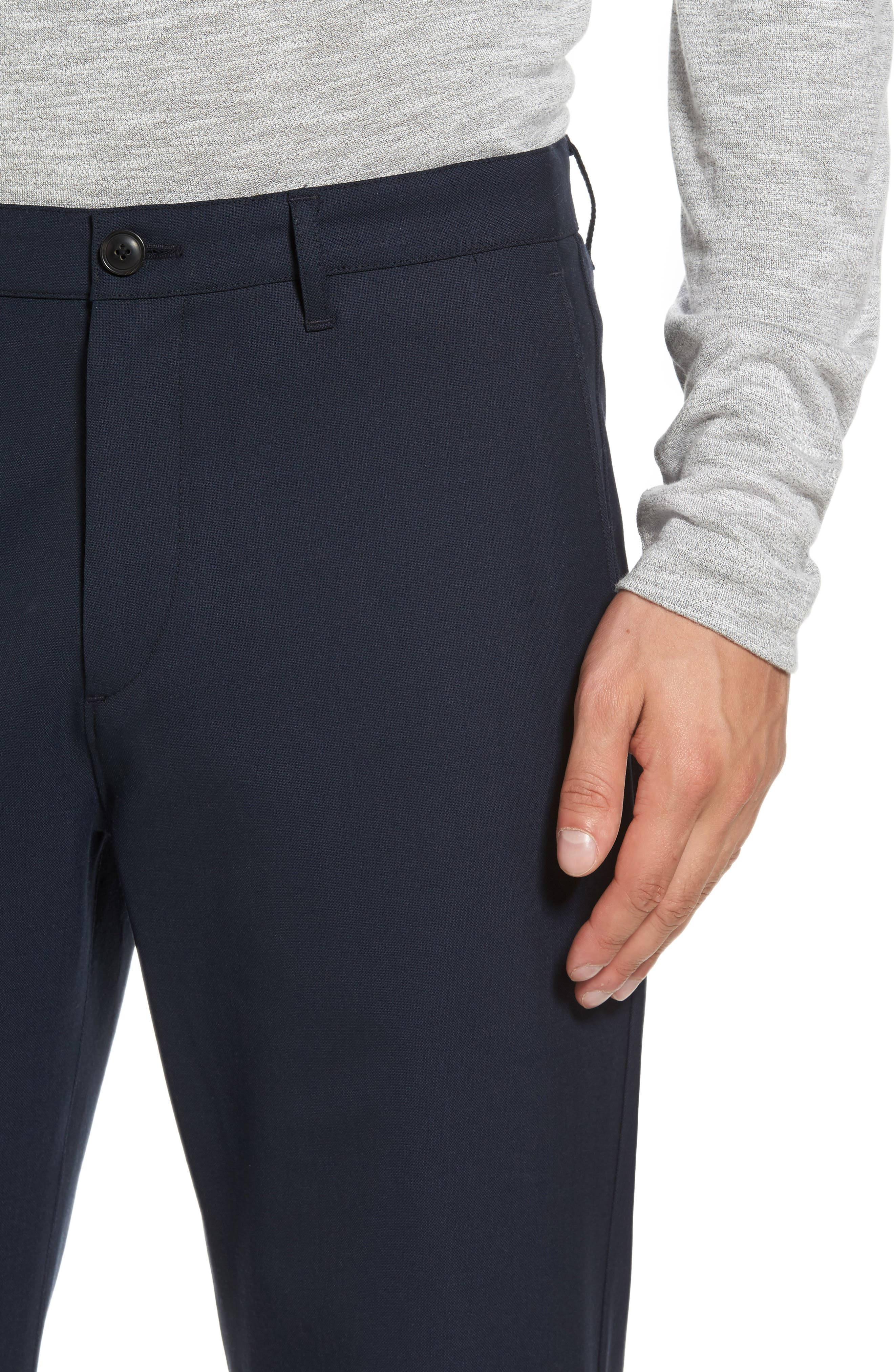 Zaine Gearheart Slim Straight Pants,                             Alternate thumbnail 8, color,