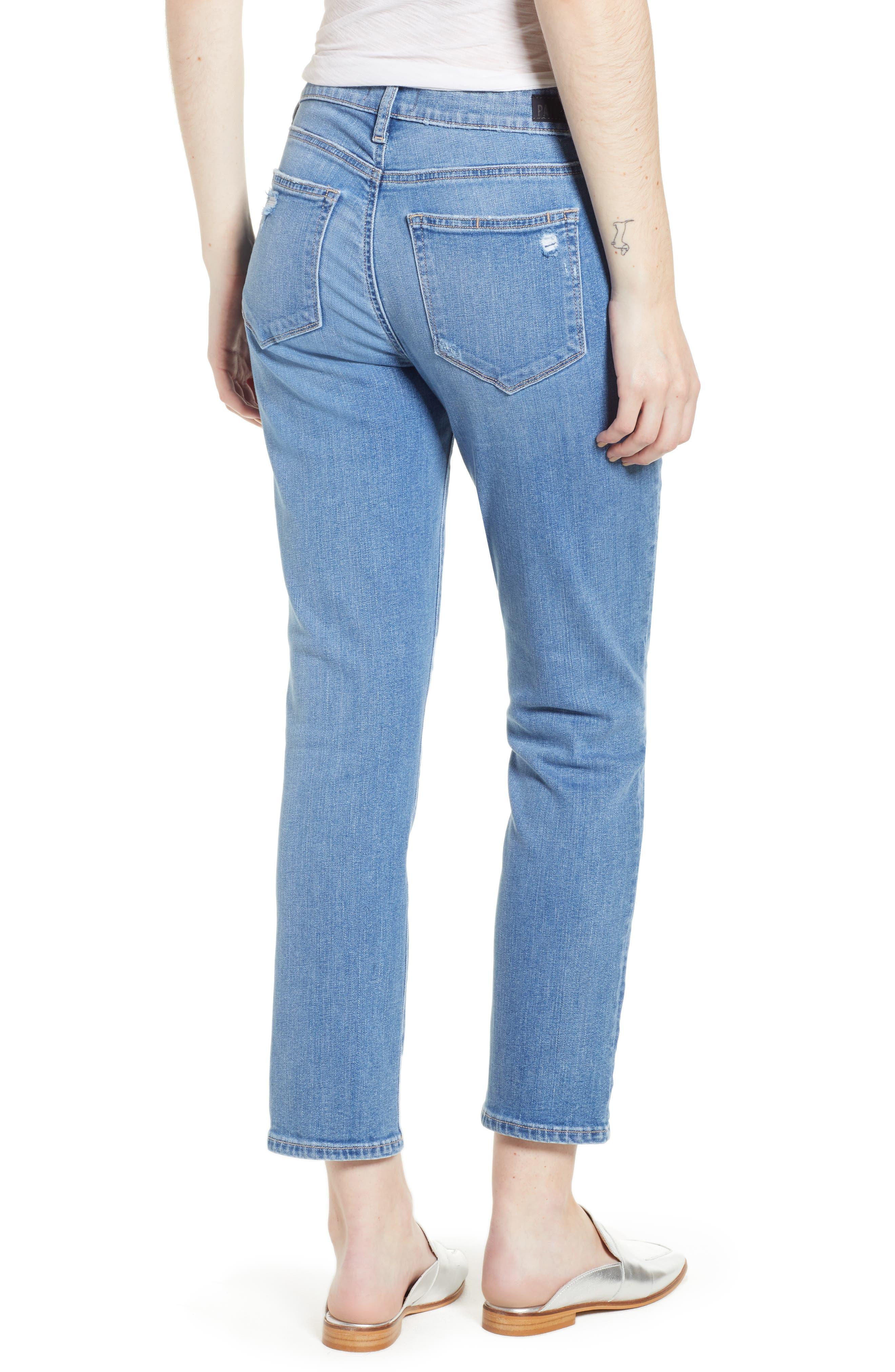 Transcend Vintage - Jimmy Jimmy High Waist Crop Boyfriend Jeans,                             Alternate thumbnail 2, color,                             VINTAGE VENICE