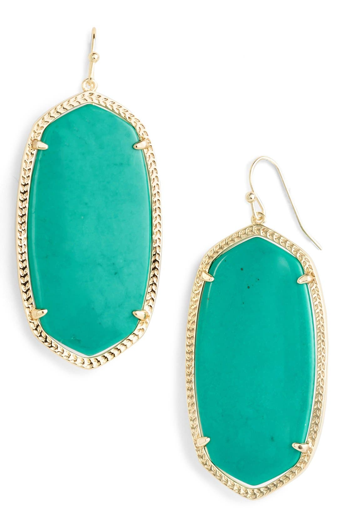 Danielle - Large Oval Statement Earrings,                             Main thumbnail 50, color,