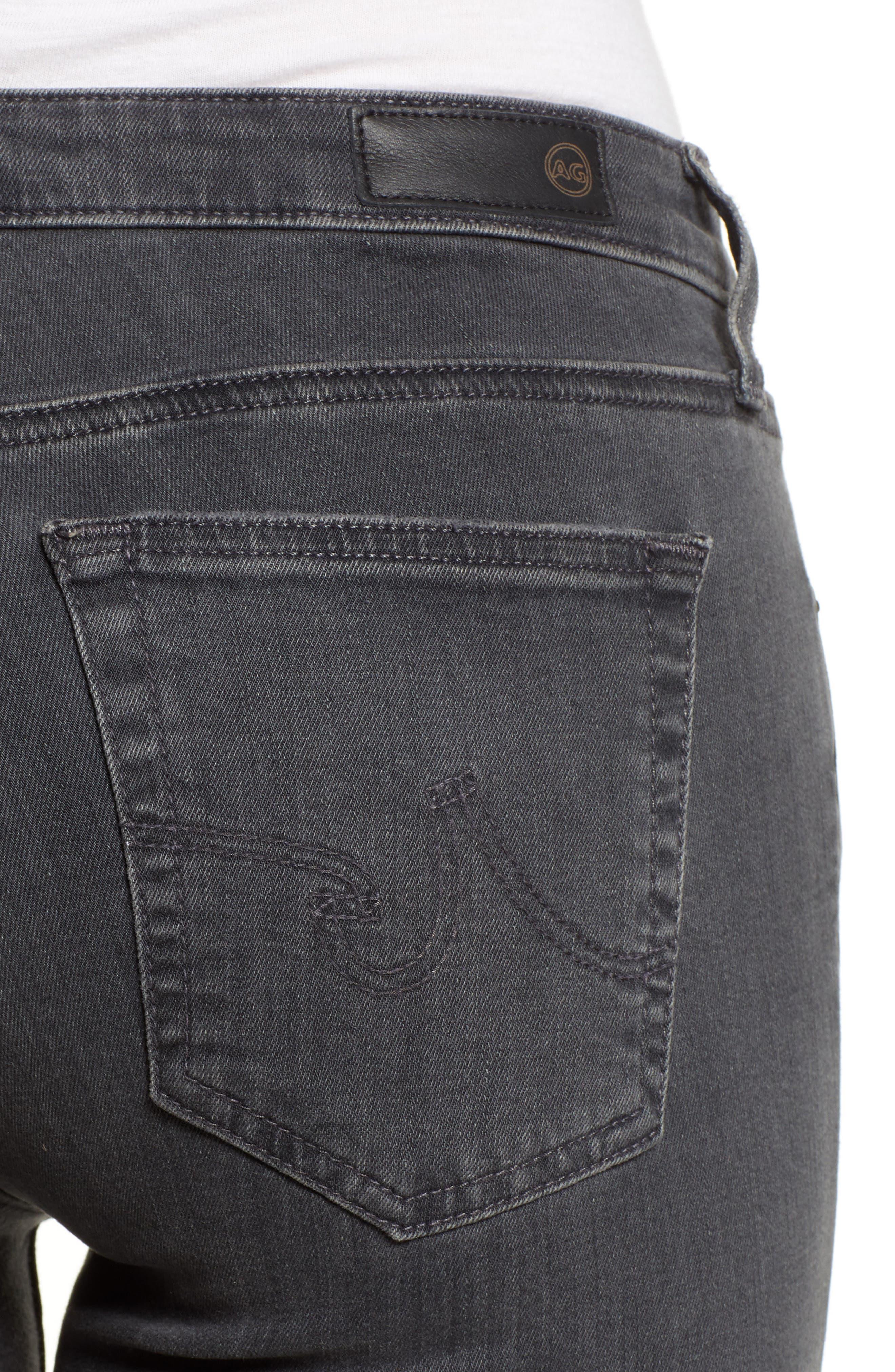 'The Legging' Ankle Super Skinny Jeans,                             Alternate thumbnail 15, color,