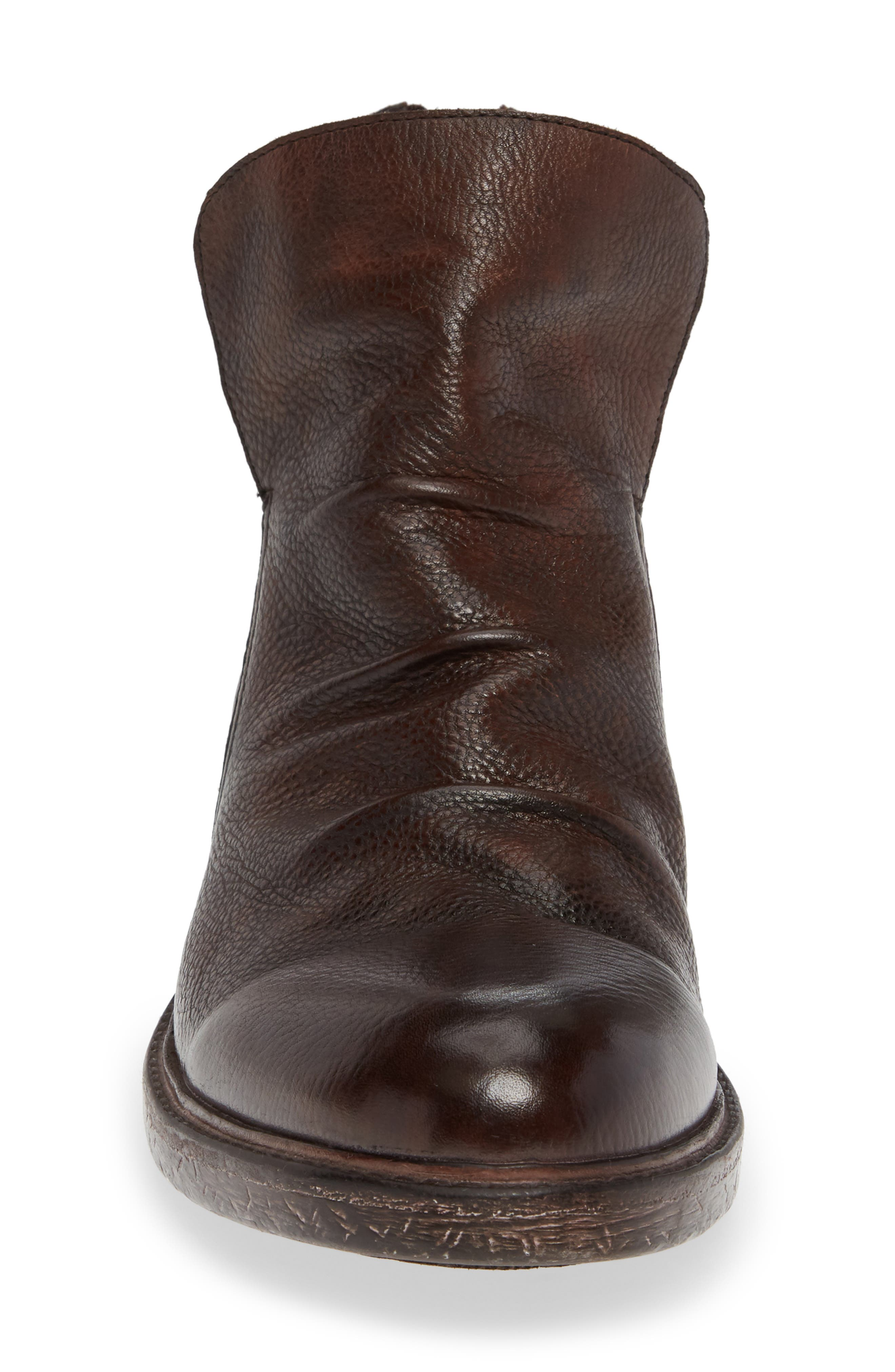 Pueblo Slouchy Boot,                             Alternate thumbnail 4, color,                             BROWN