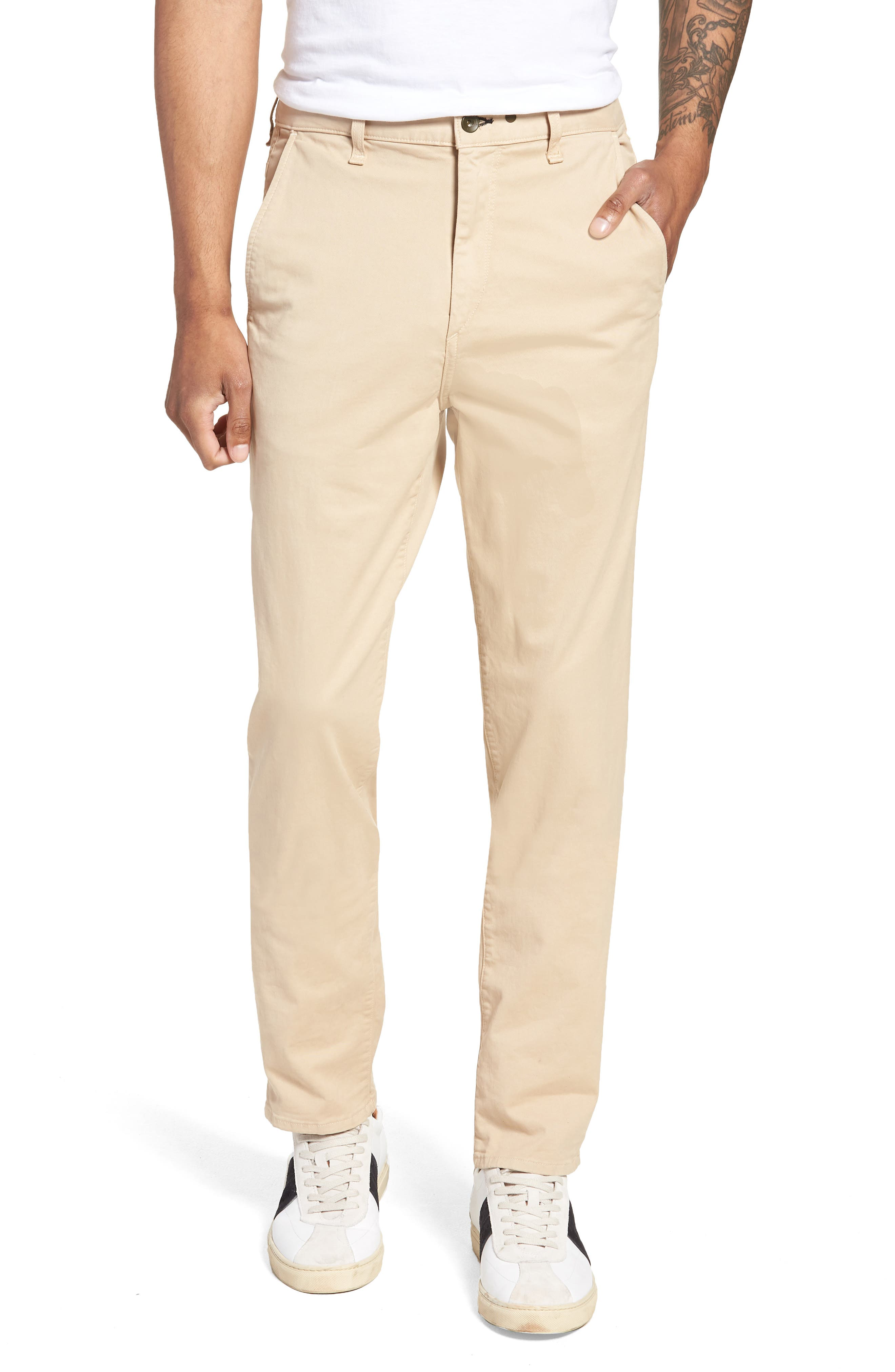 Fit 3 Classic Chino,                         Main,                         color, BEIGE