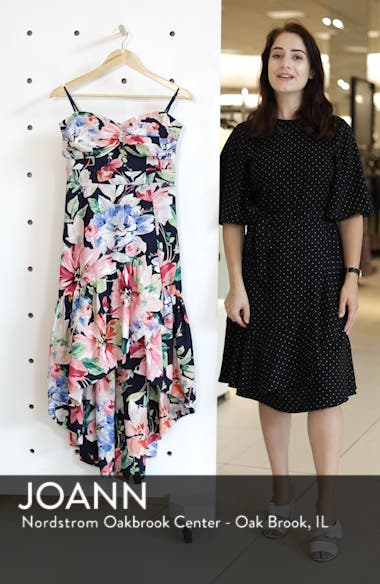 Strapless High/Low Dress, sales video thumbnail