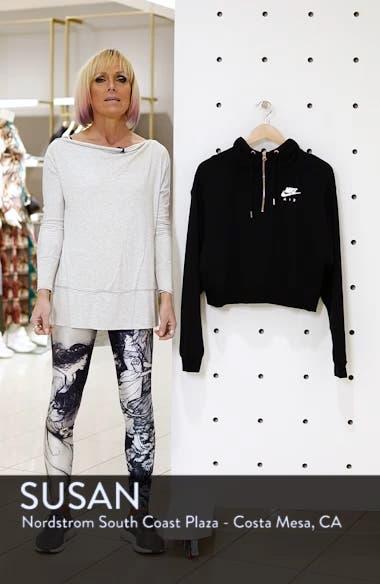 Sportswear Women's Half Zip Fleece Hoodie, sales video thumbnail