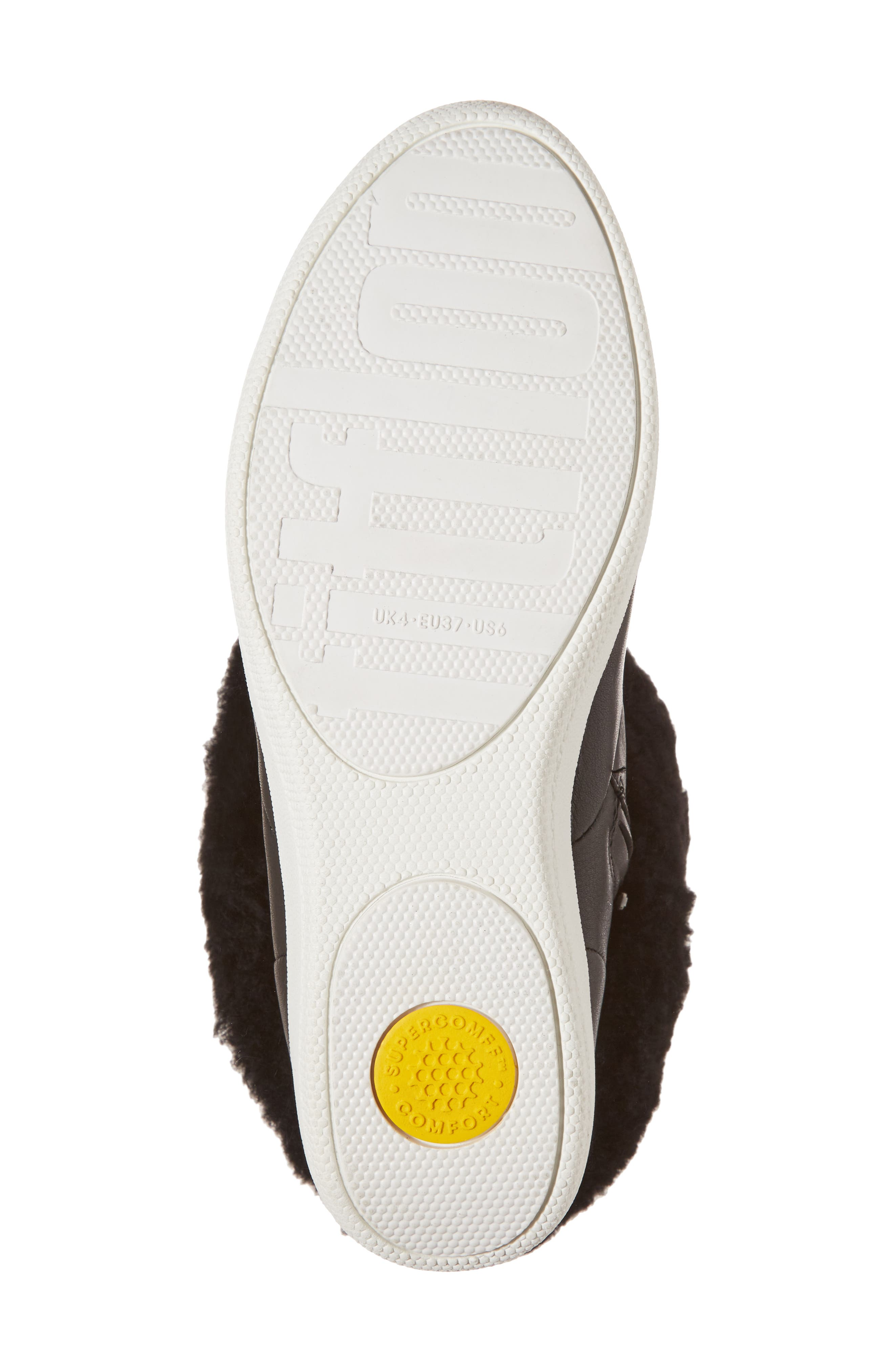 Skatebootie<sup>™</sup> with Genuine Shearling Cuff,                             Alternate thumbnail 11, color,
