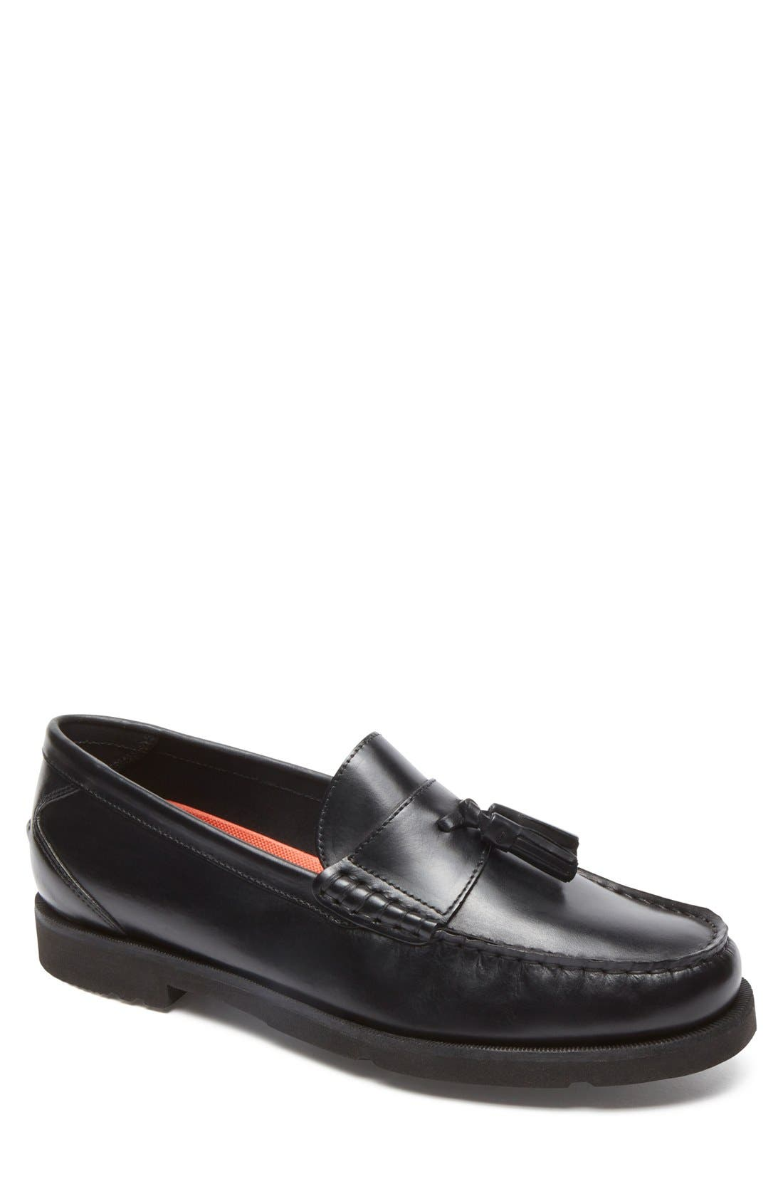 ROCKPORT,                             Modern Prep Tassel Loafer,                             Main thumbnail 1, color,                             001