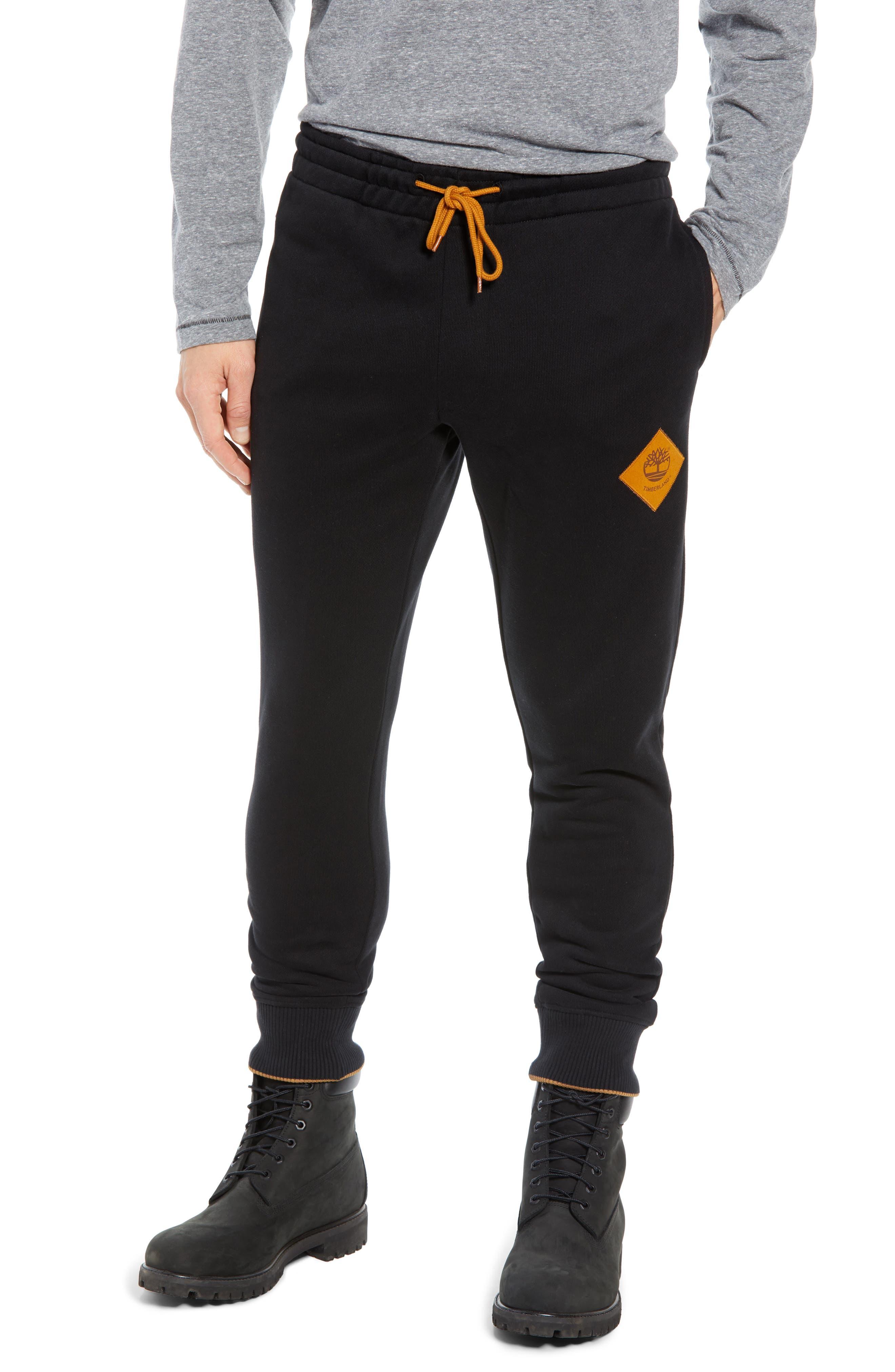 Elevated Jogger Sweatpants,                             Main thumbnail 1, color,                             BLACK