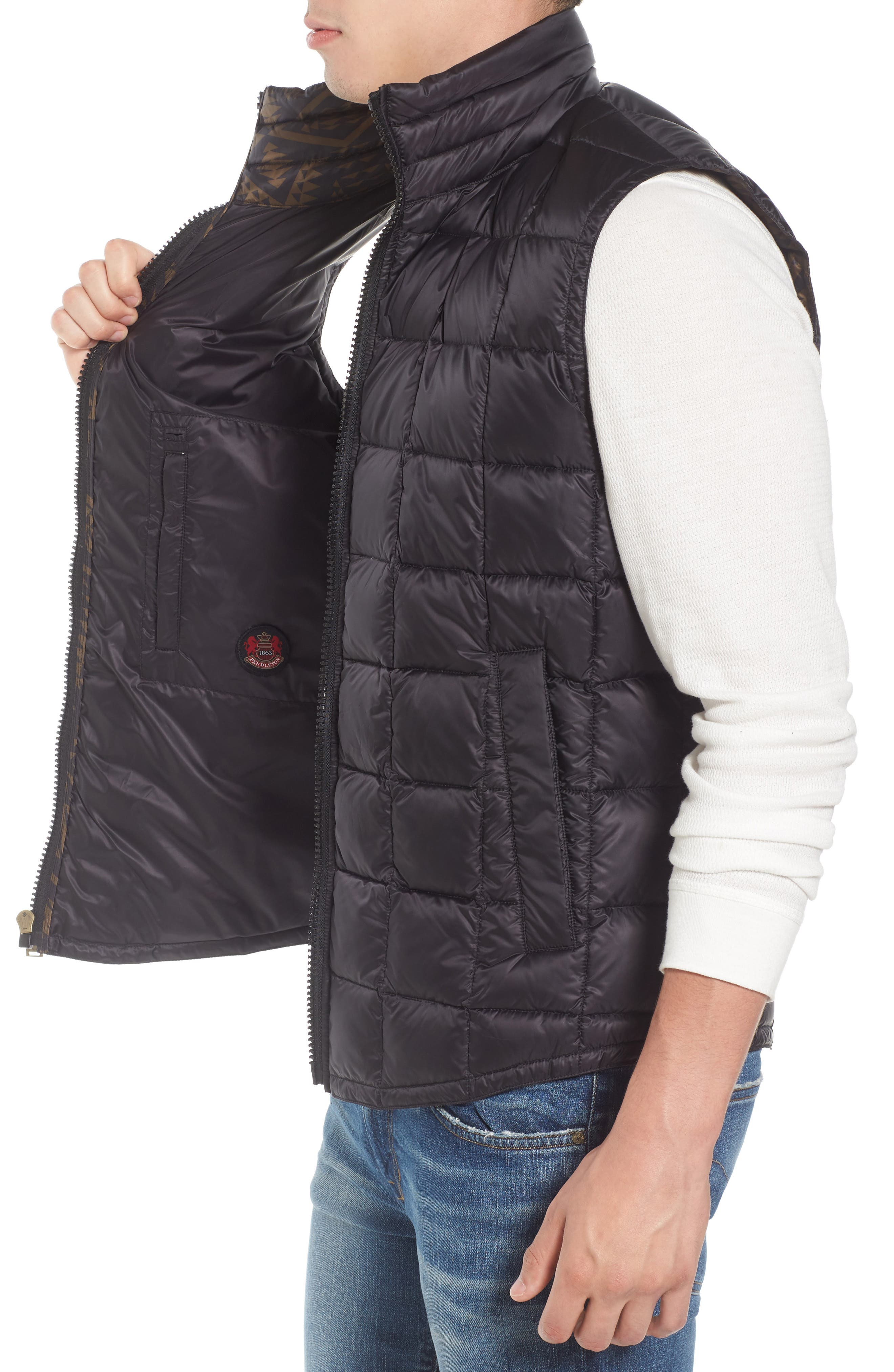 Billings Down Vest,                             Alternate thumbnail 3, color,                             001