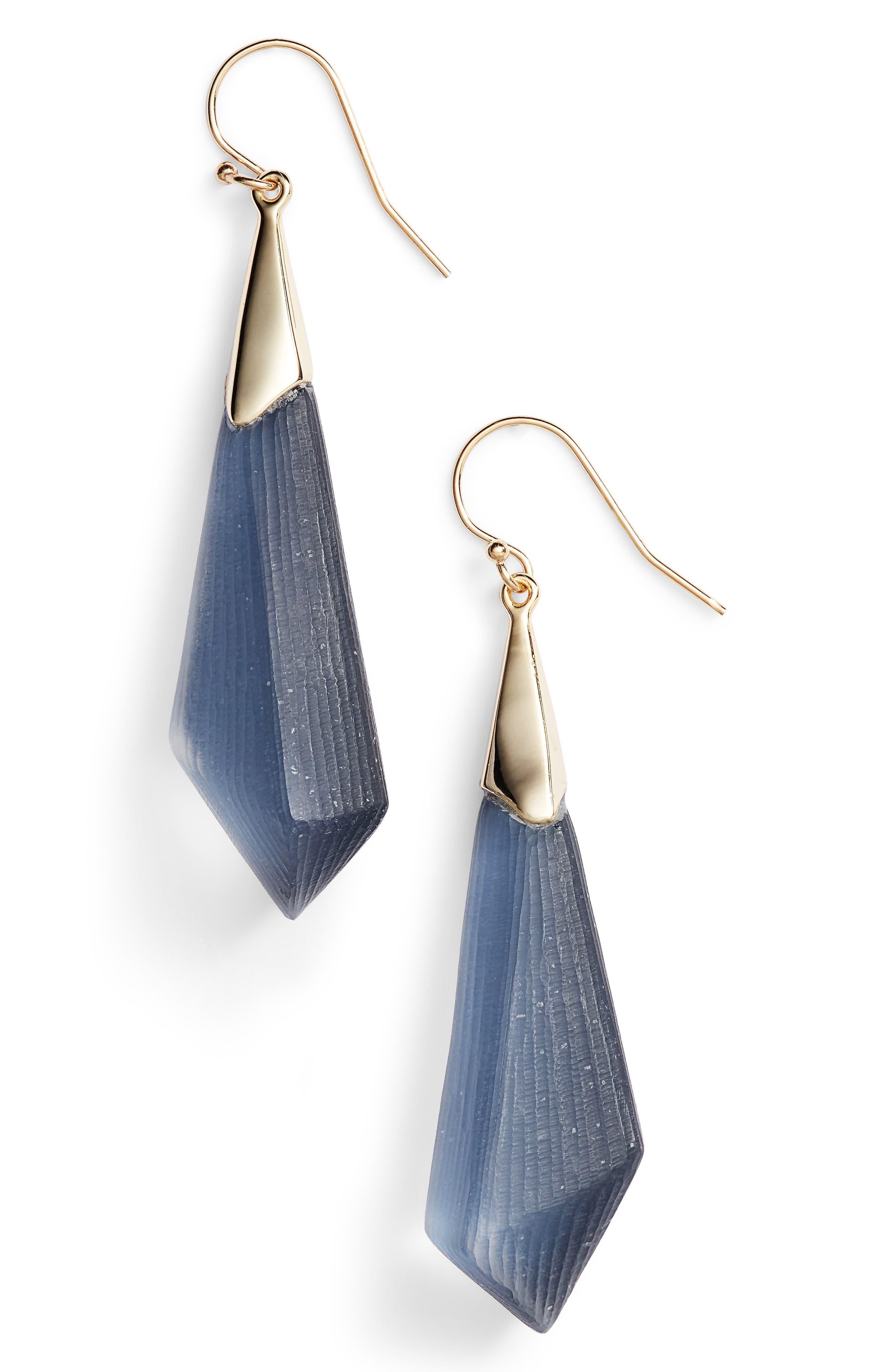 Lucite<sup>®</sup> Drop Earrings,                             Main thumbnail 2, color,