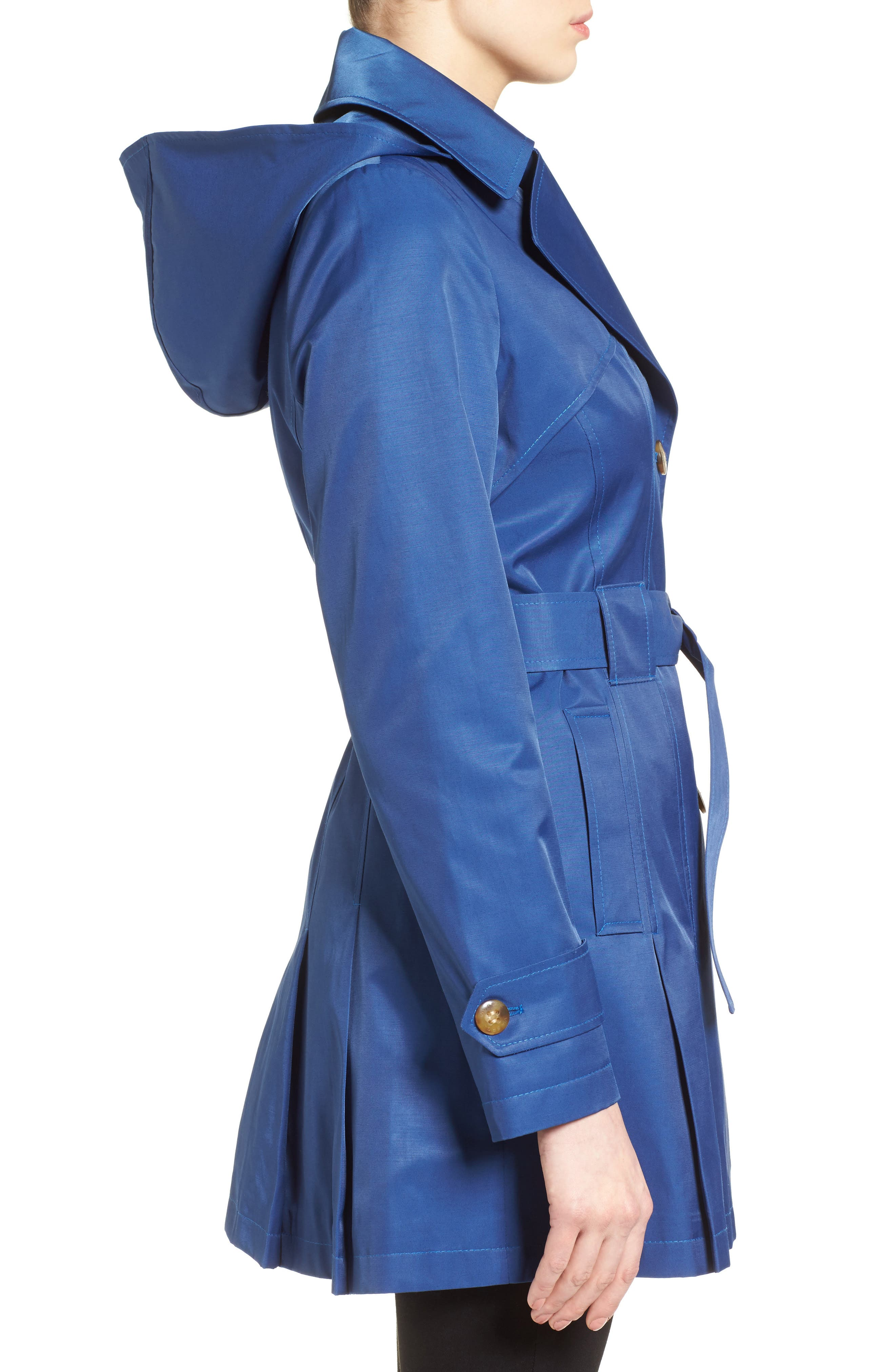 'Scarpa' Hooded Single Breasted Trench Coat,                             Alternate thumbnail 22, color,