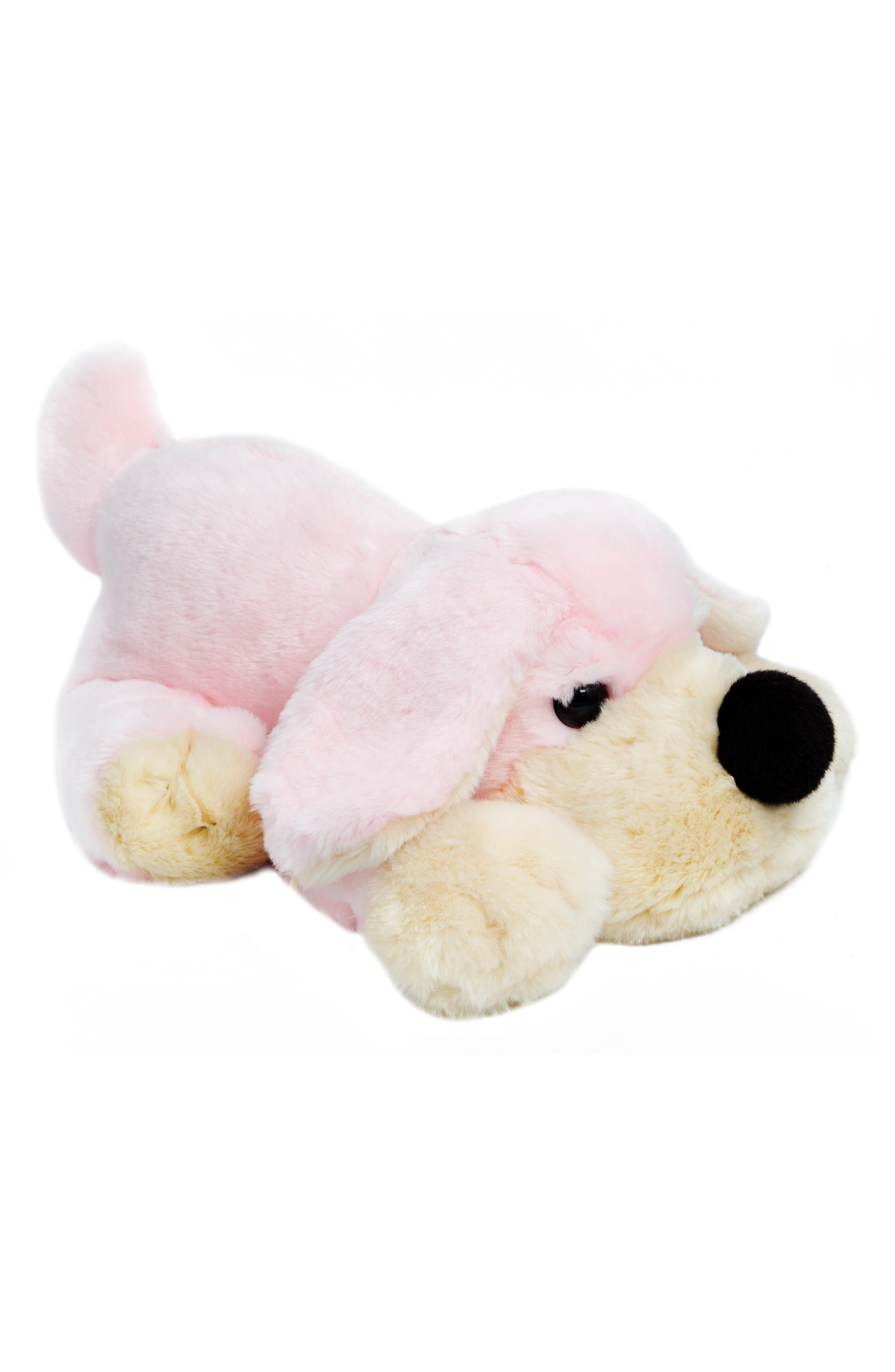 Penelope The Pup Plush Dog,                         Main,                         color, PINK