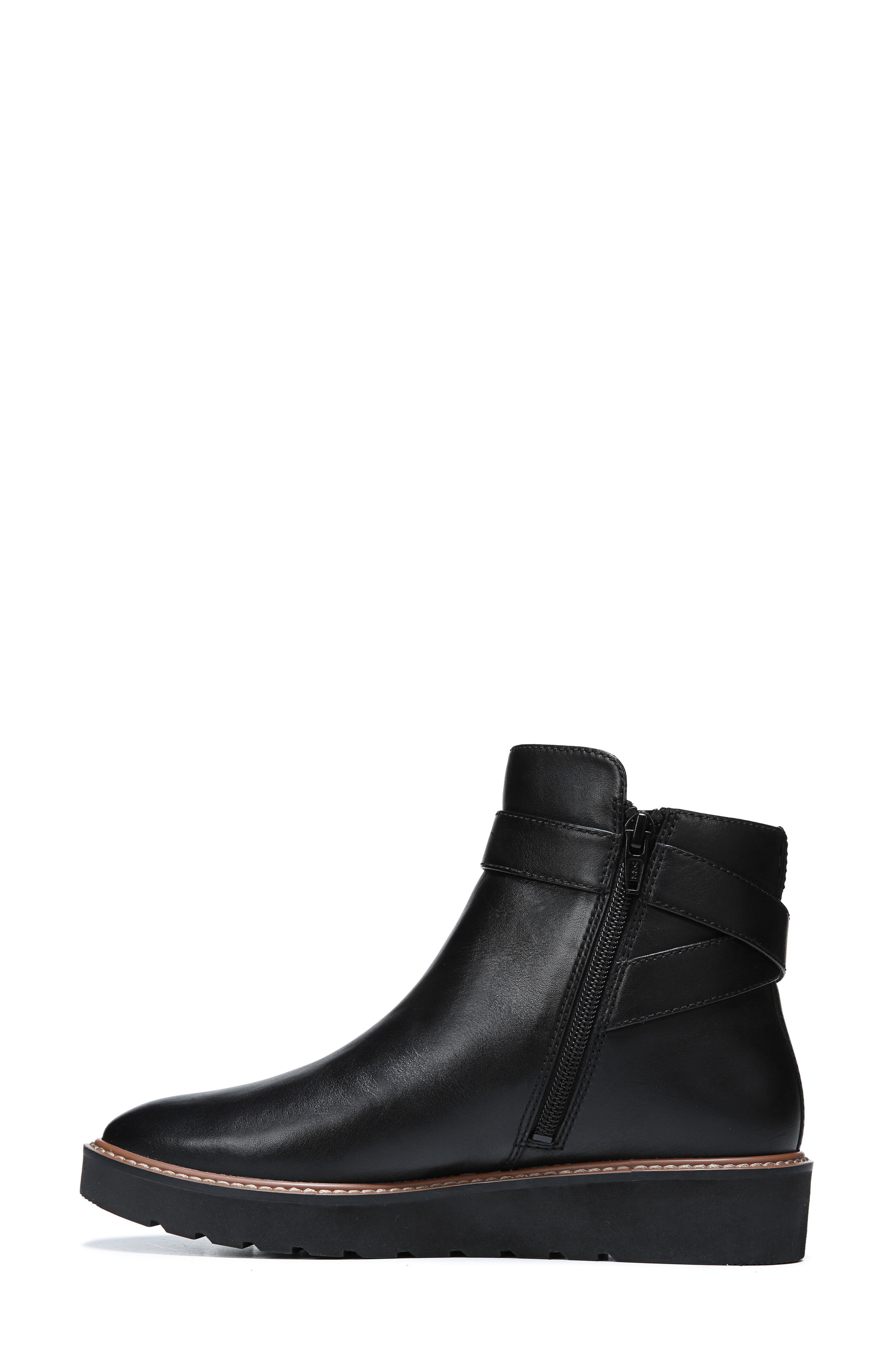 NATURALIZER,                             Aster Bootie,                             Alternate thumbnail 5, color,                             BLACK LEATHER
