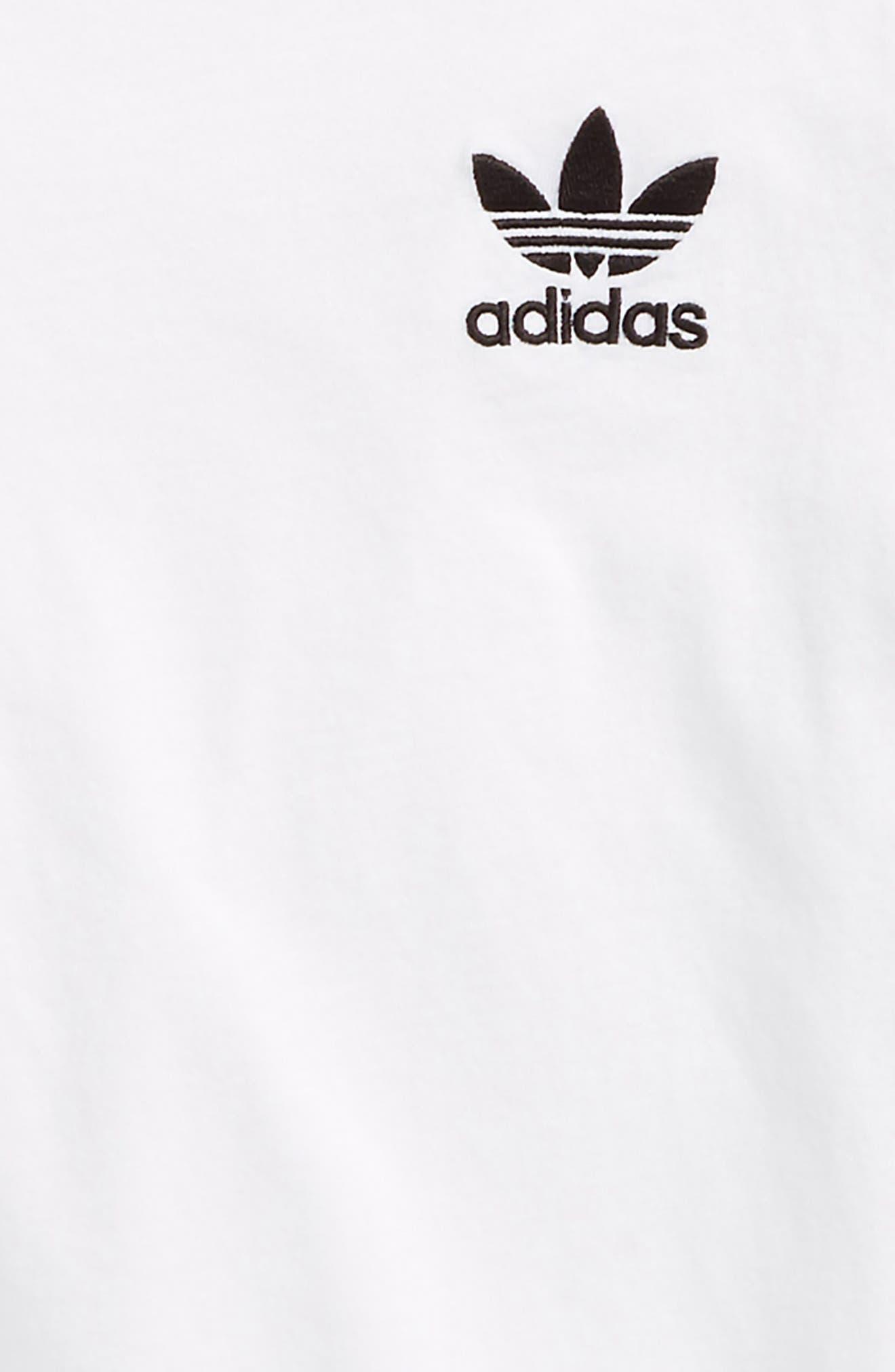 California T-Shirt,                             Alternate thumbnail 2, color,                             WHITE/ BLACK